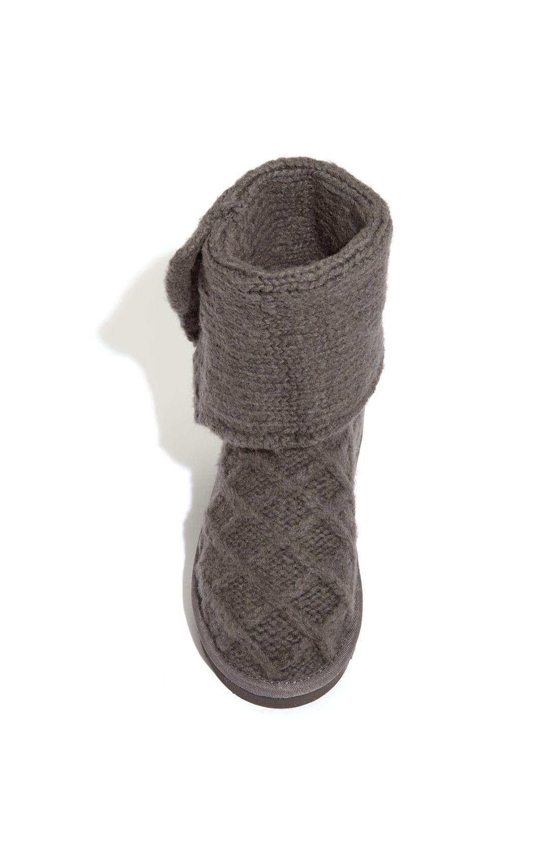 Alternate Image 3  - UGG® Australia 'Lattice Cardy' Boot (Toddler, Little Kid & Big Kid)