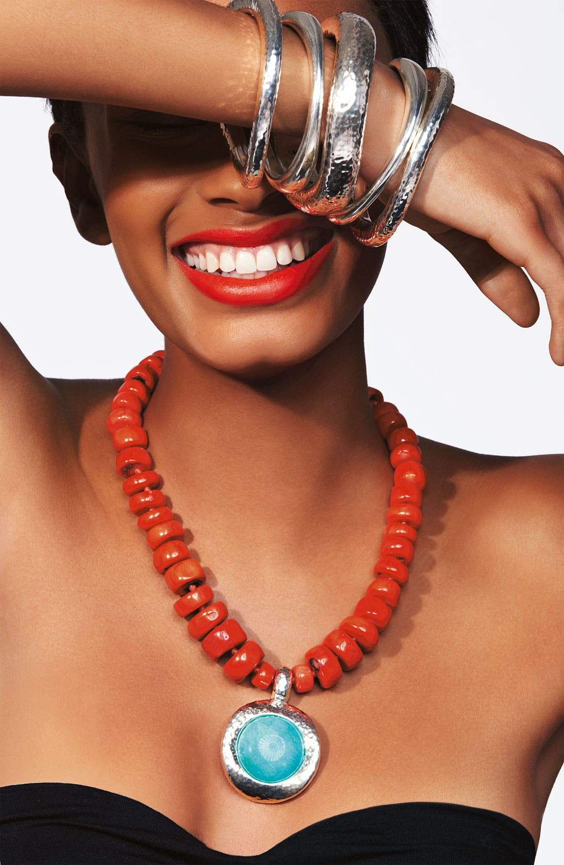 Alternate Image 2  - Simon Sebbag 'Palm Beach' Pendant Necklace