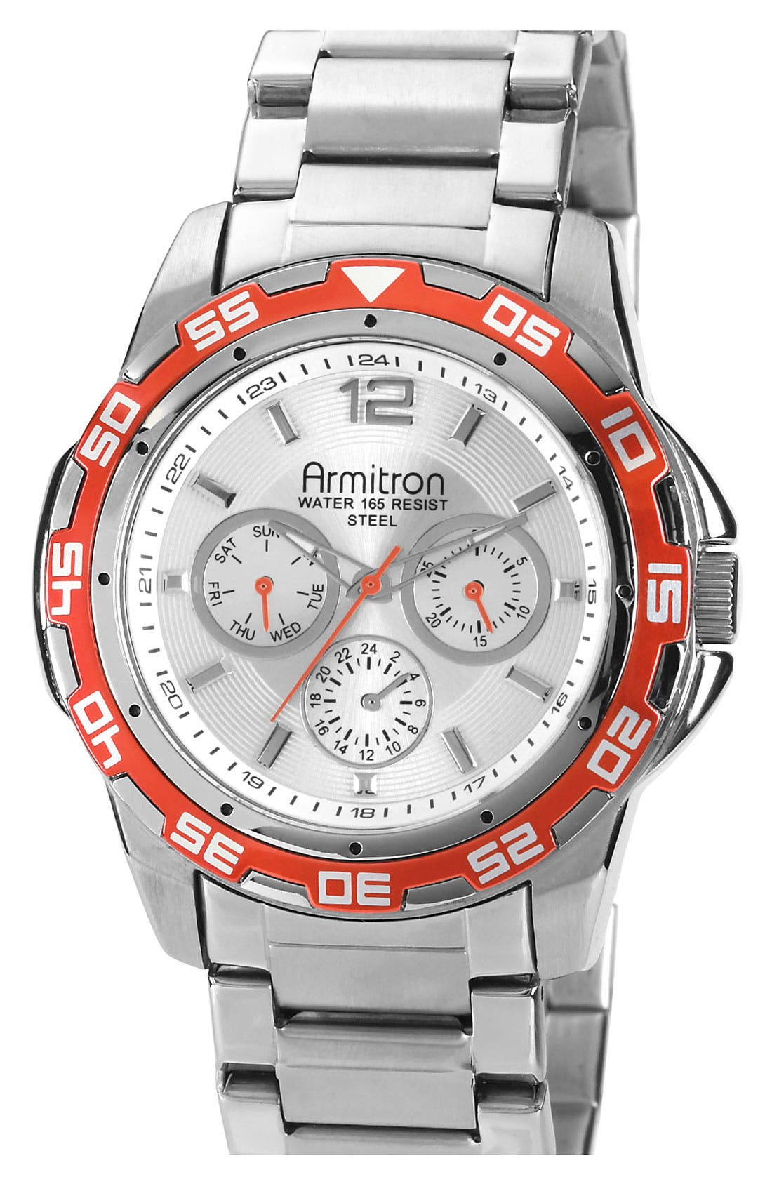 Alternate Image 1 Selected - Armitron Multifunction Sports Watch, 44mm