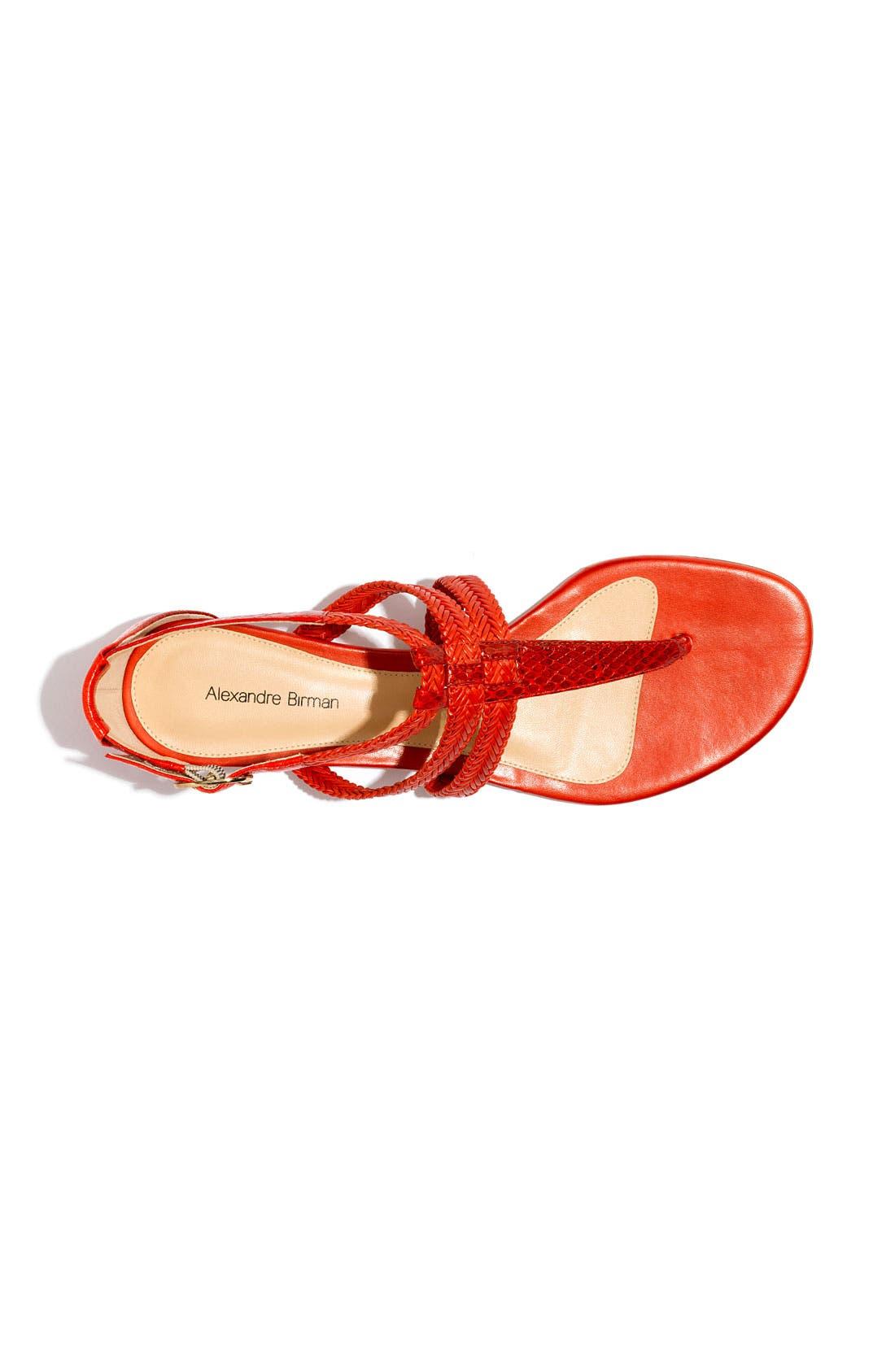 Alternate Image 3  - Alexandre Birman Braided Thong Sandal
