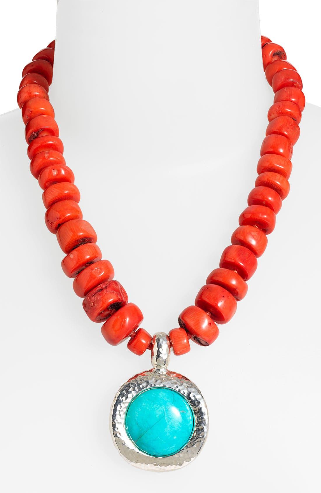 Main Image - Simon Sebbag 'Palm Beach' Pendant Necklace