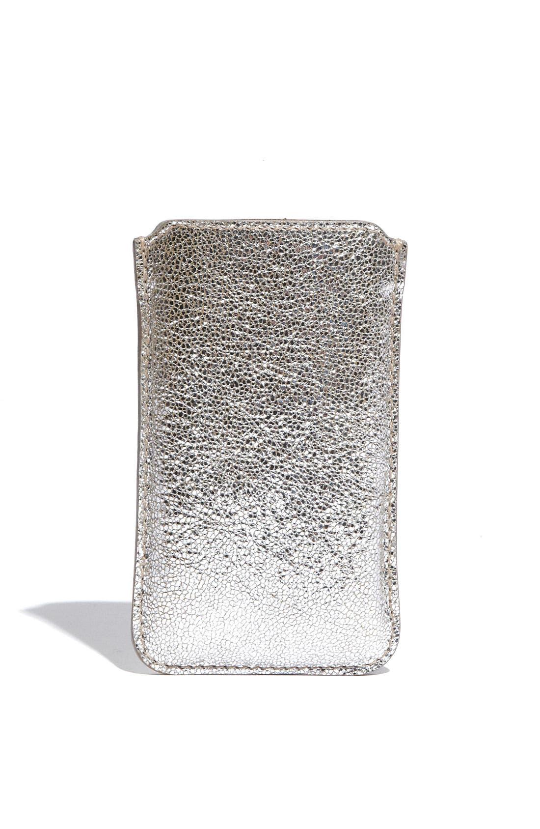 Alternate Image 4  - Jimmy Choo 'Trent' Leather iPhone Case