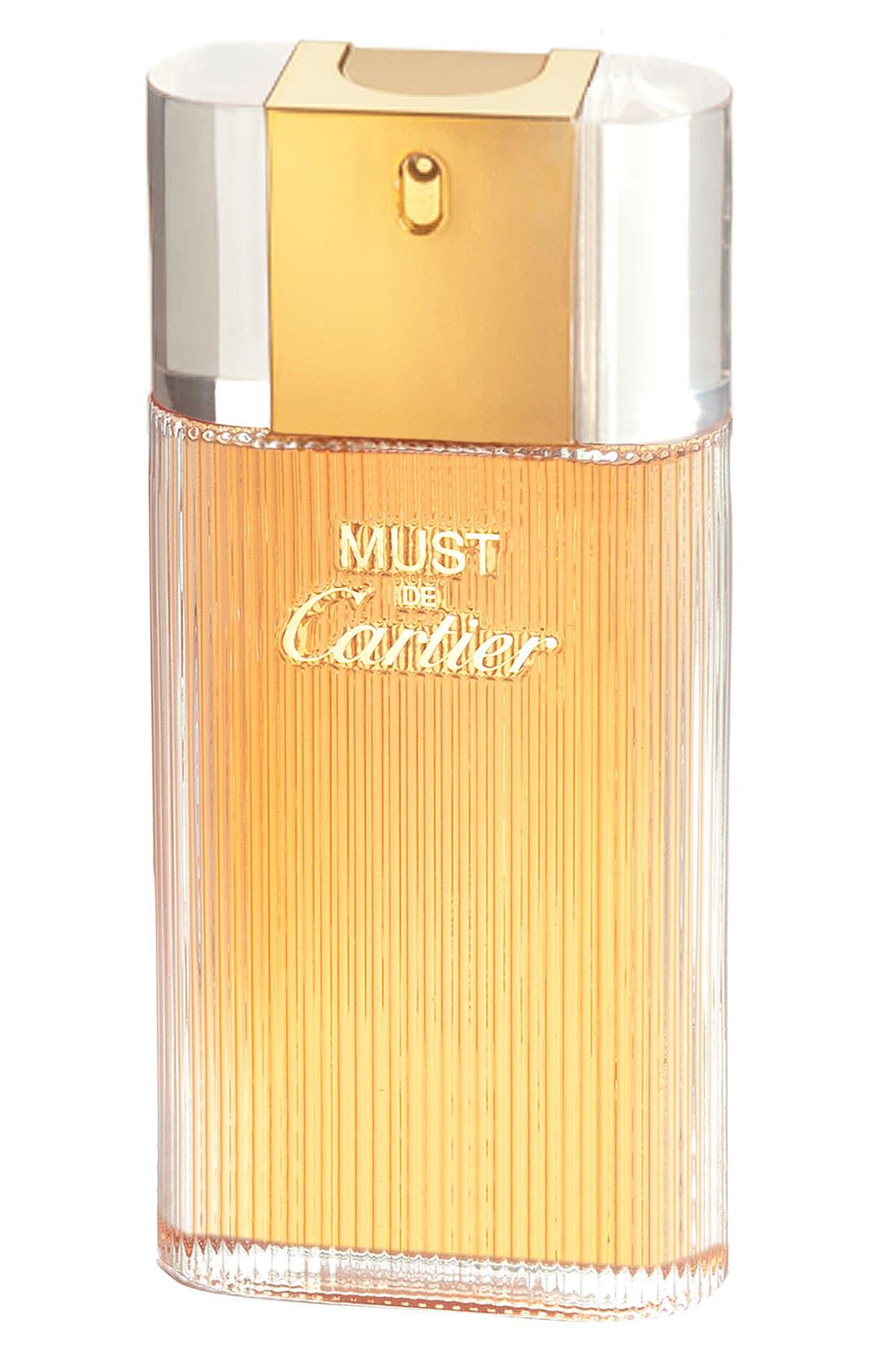 Cartier 'Must de Cartier' Eau de Toilette