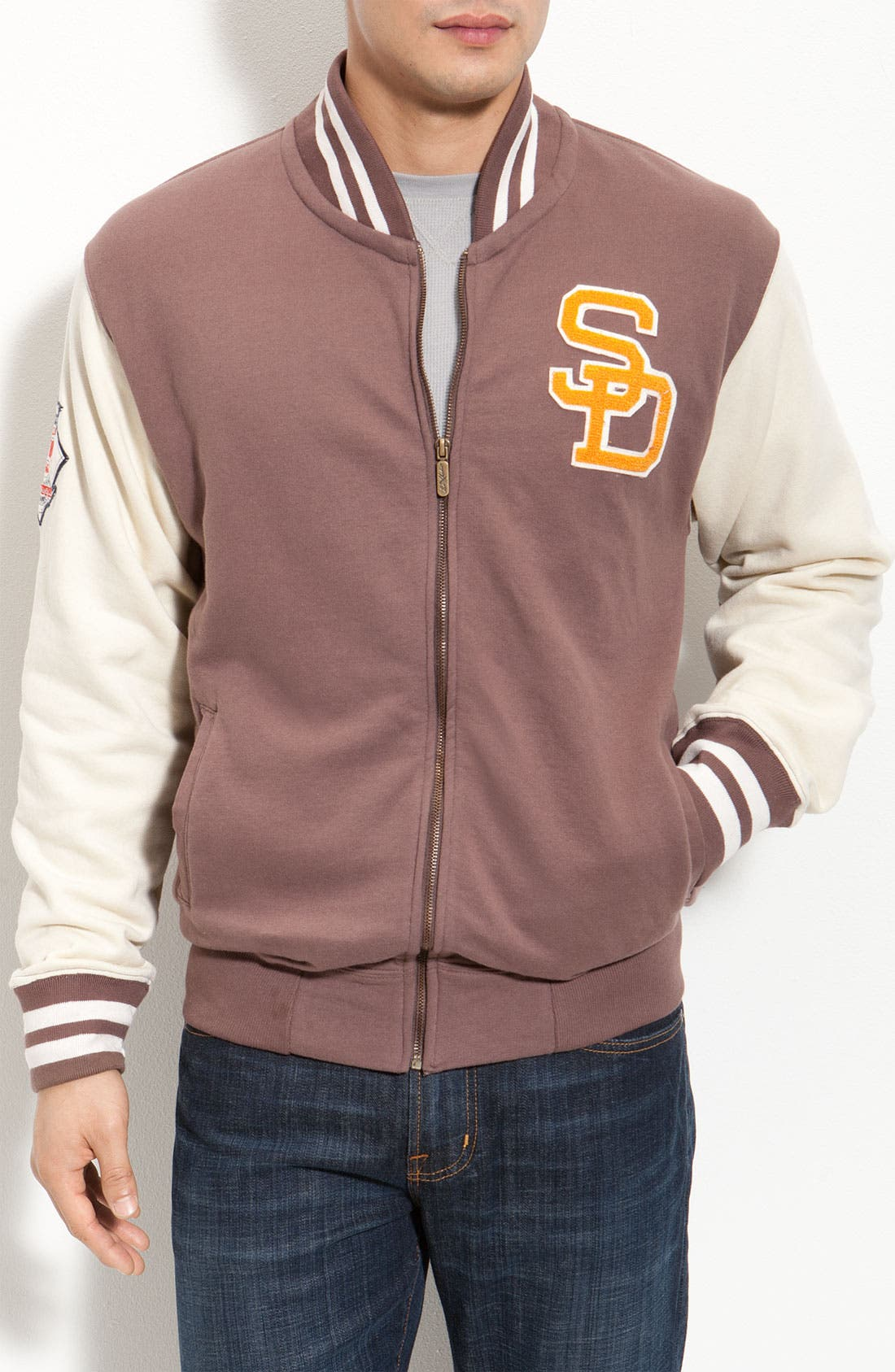 Alternate Image 1 Selected - Red Jacket 'Homeroom Padres' Jacket
