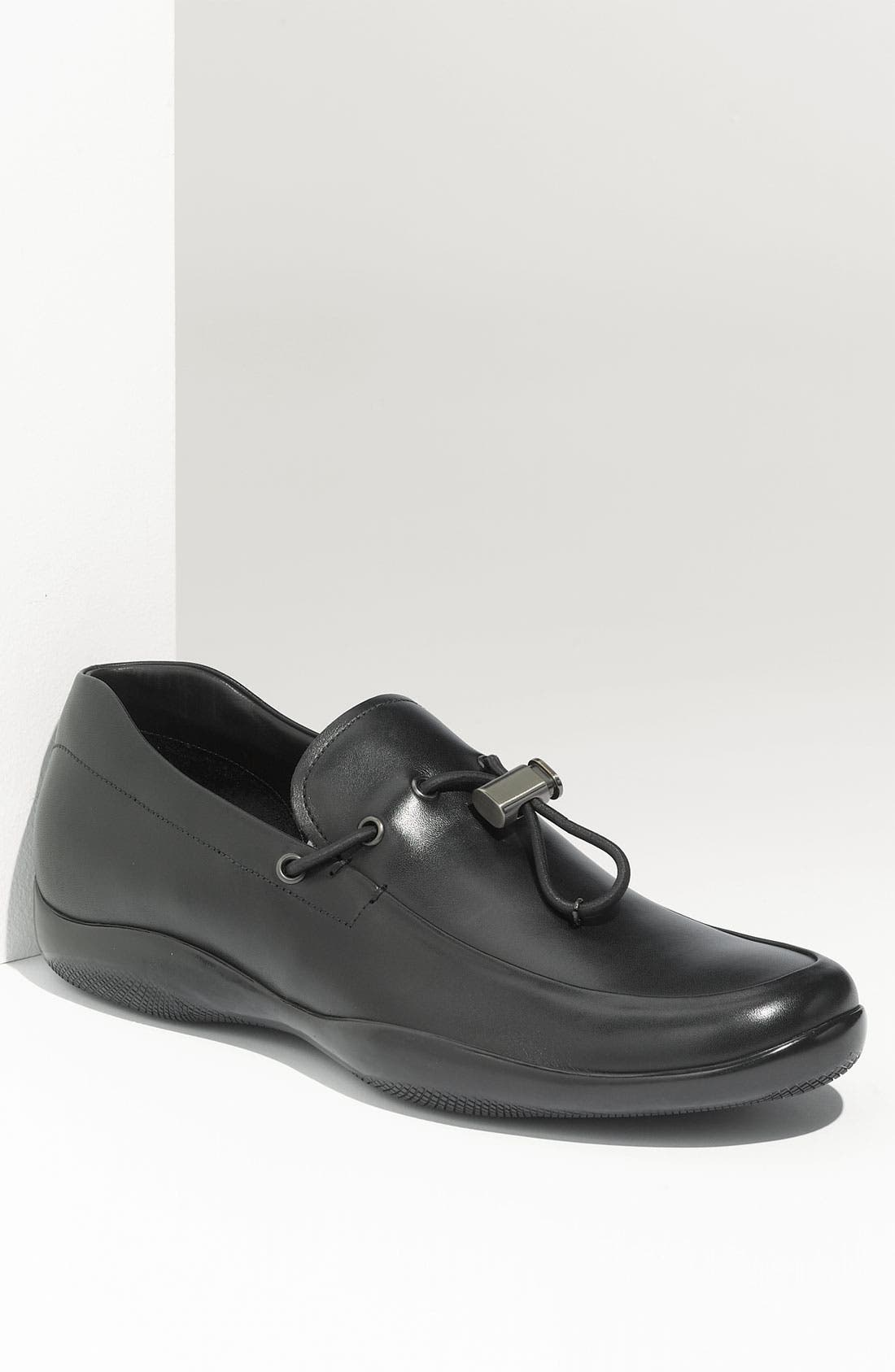 Alternate Image 1 Selected - Prada Leather Loafer