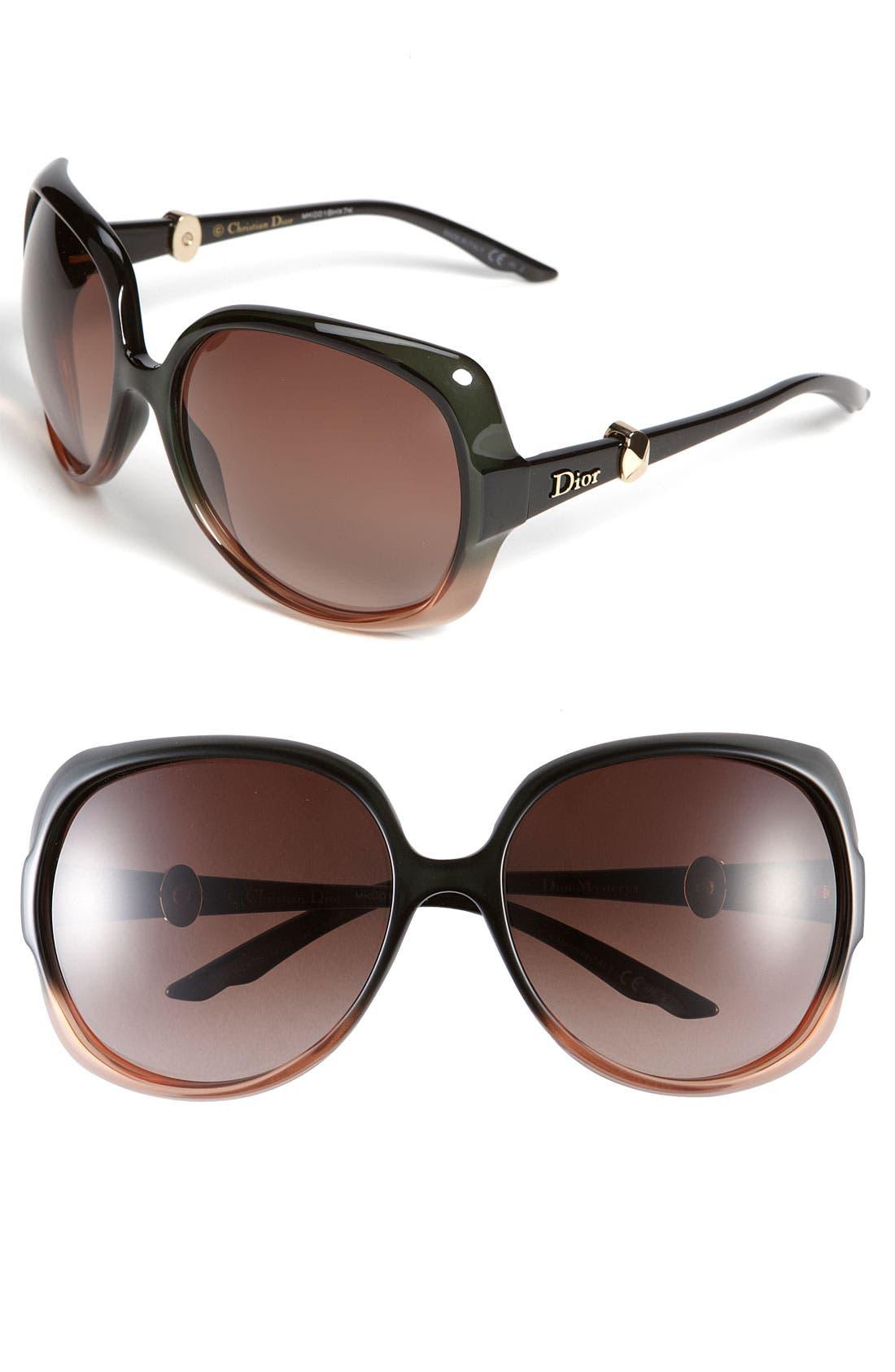 Alternate Image 1 Selected - Dior Oversized Sunglasses