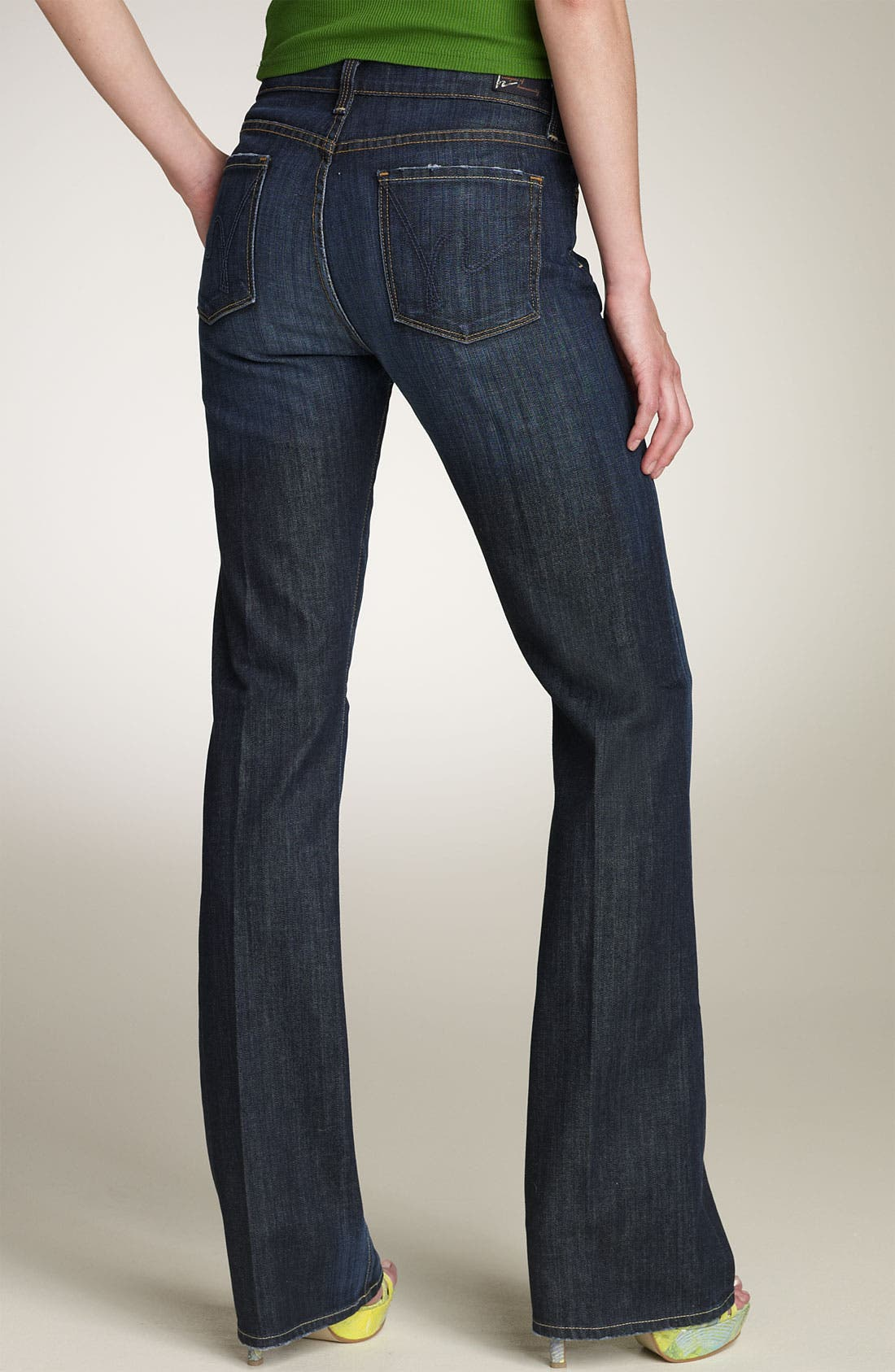 Alternate Image 2  - Citizens of Humanity 'Amber' Mid Rise Bootcut Stretch Jeans (New Pacific)