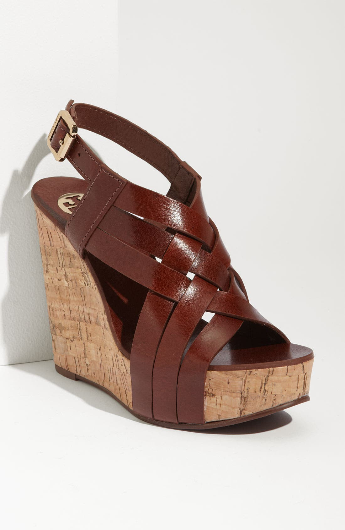 Alternate Image 1 Selected - Tory Burch 'Ace' Wedge Sandal