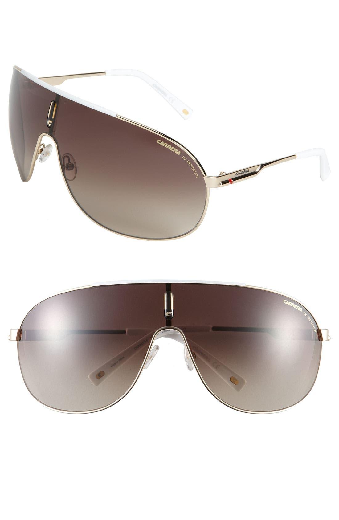 Alternate Image 1 Selected - Carrera Eyewear Metal Aviators