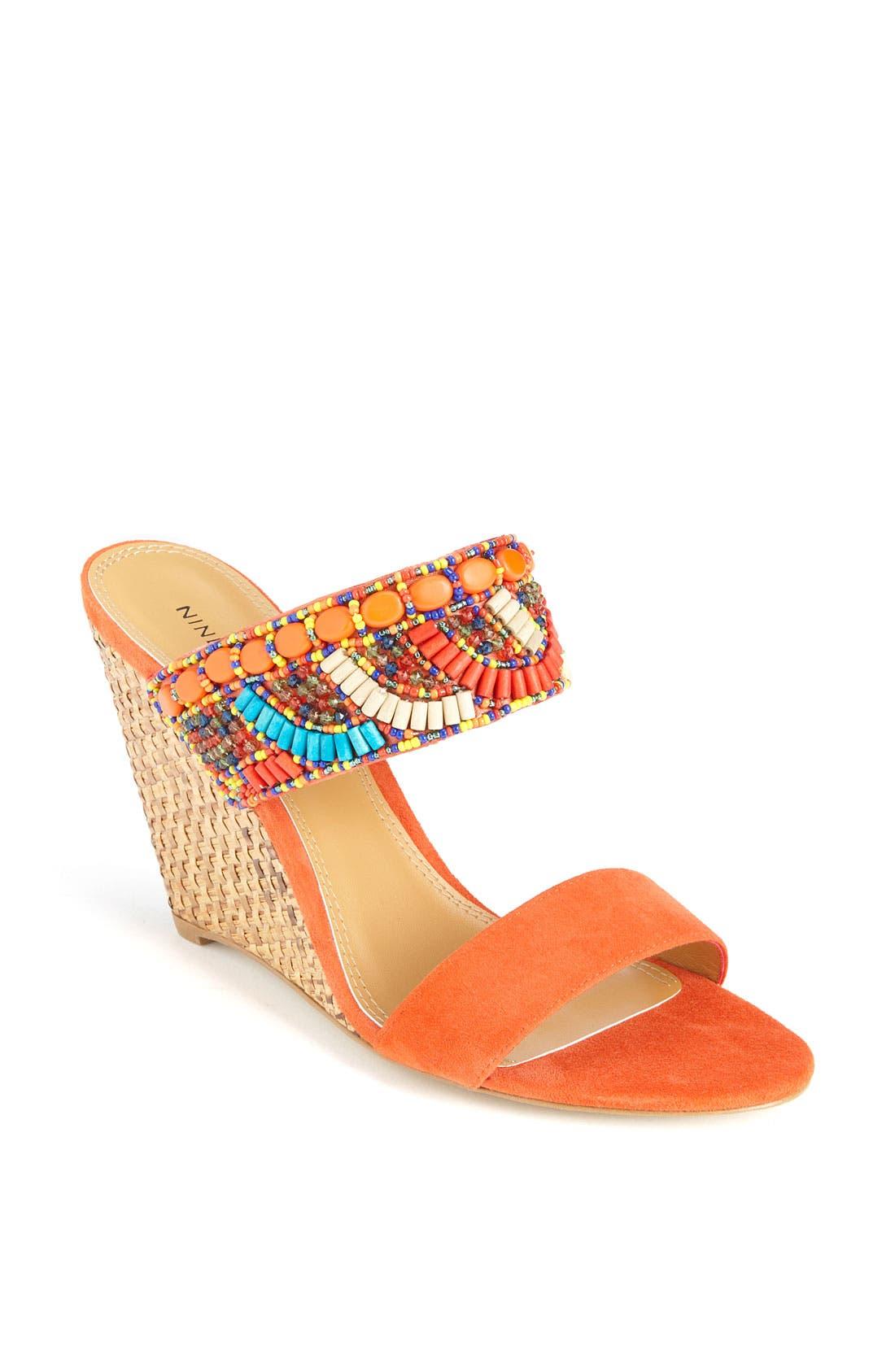 Alternate Image 1 Selected - Nine West 'Sweet Rosey' Sandal