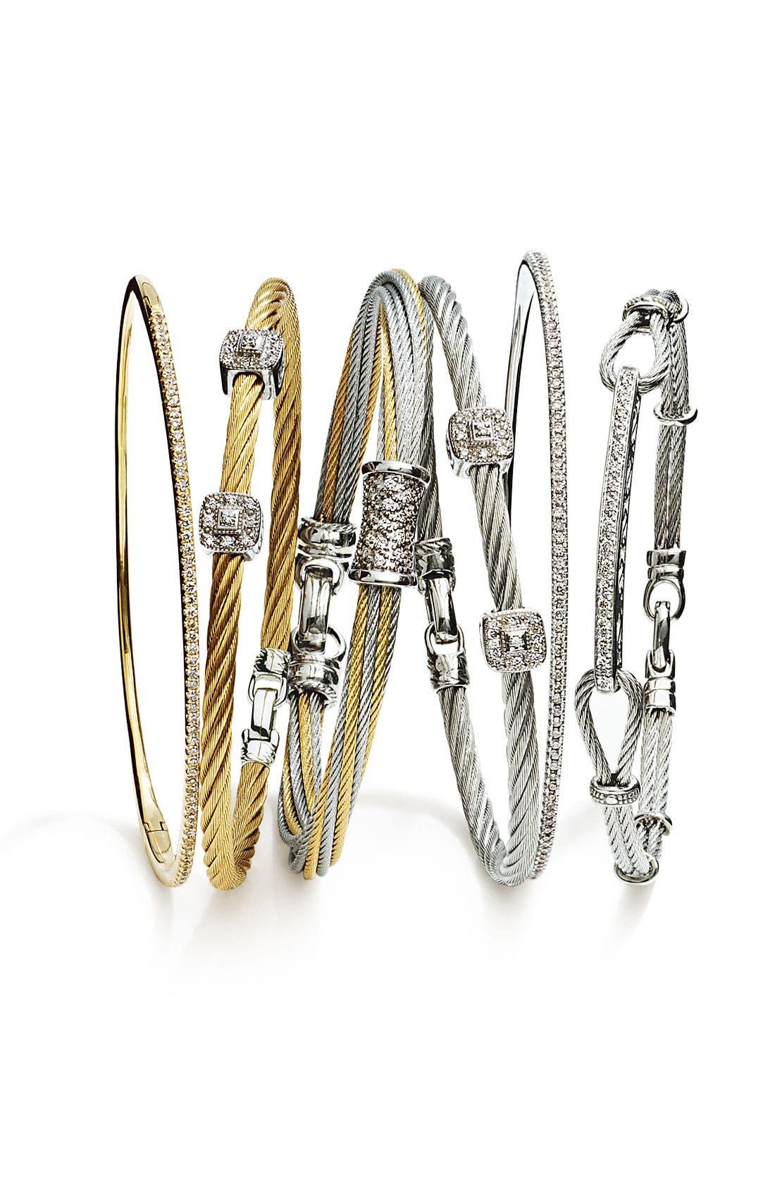 Alternate Image 2  - ALOR® Diamond ID Bracelet