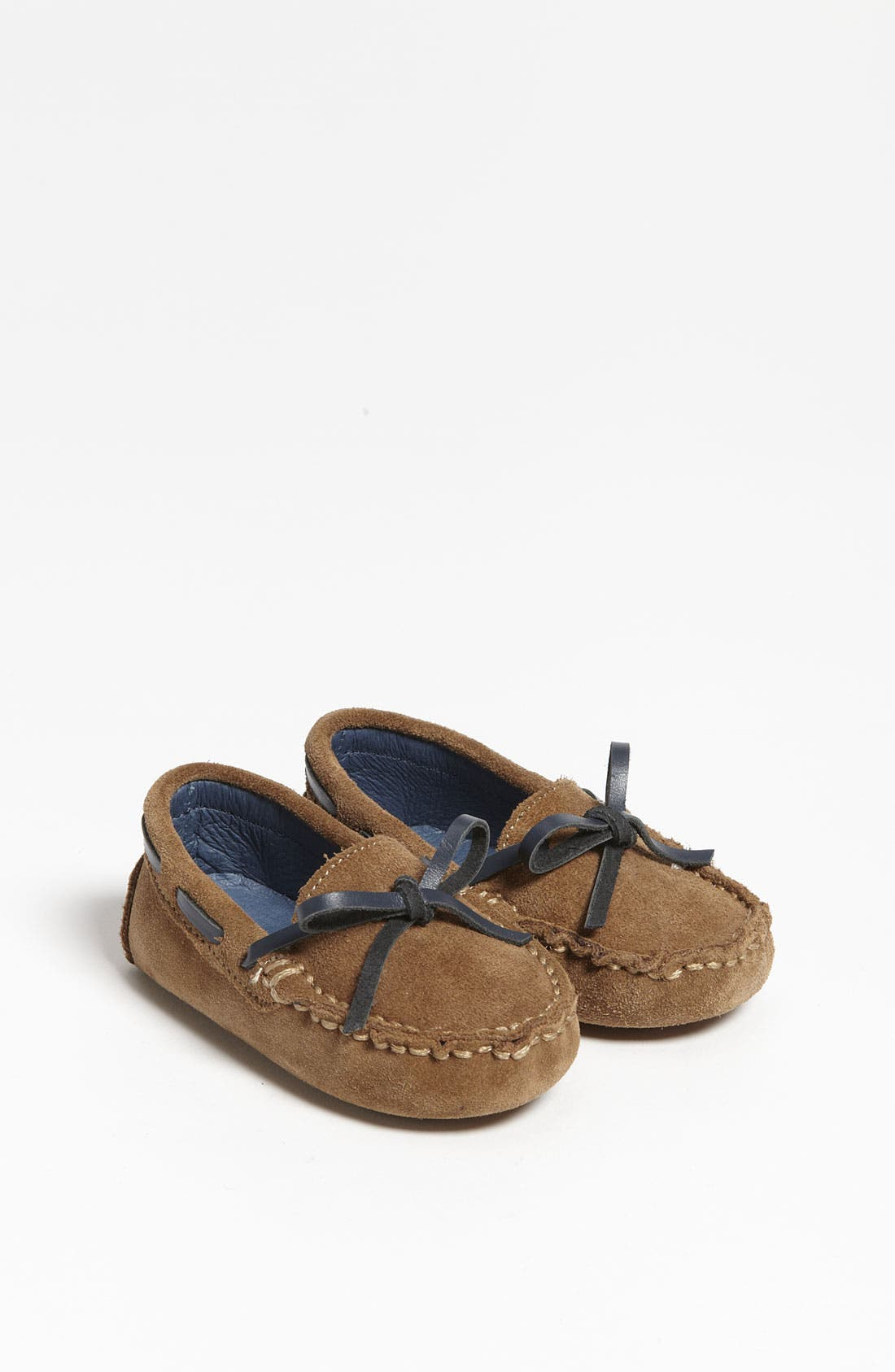 Alternate Image 1 Selected - Cole Haan 'Mini' Driver Moccasin (Baby)