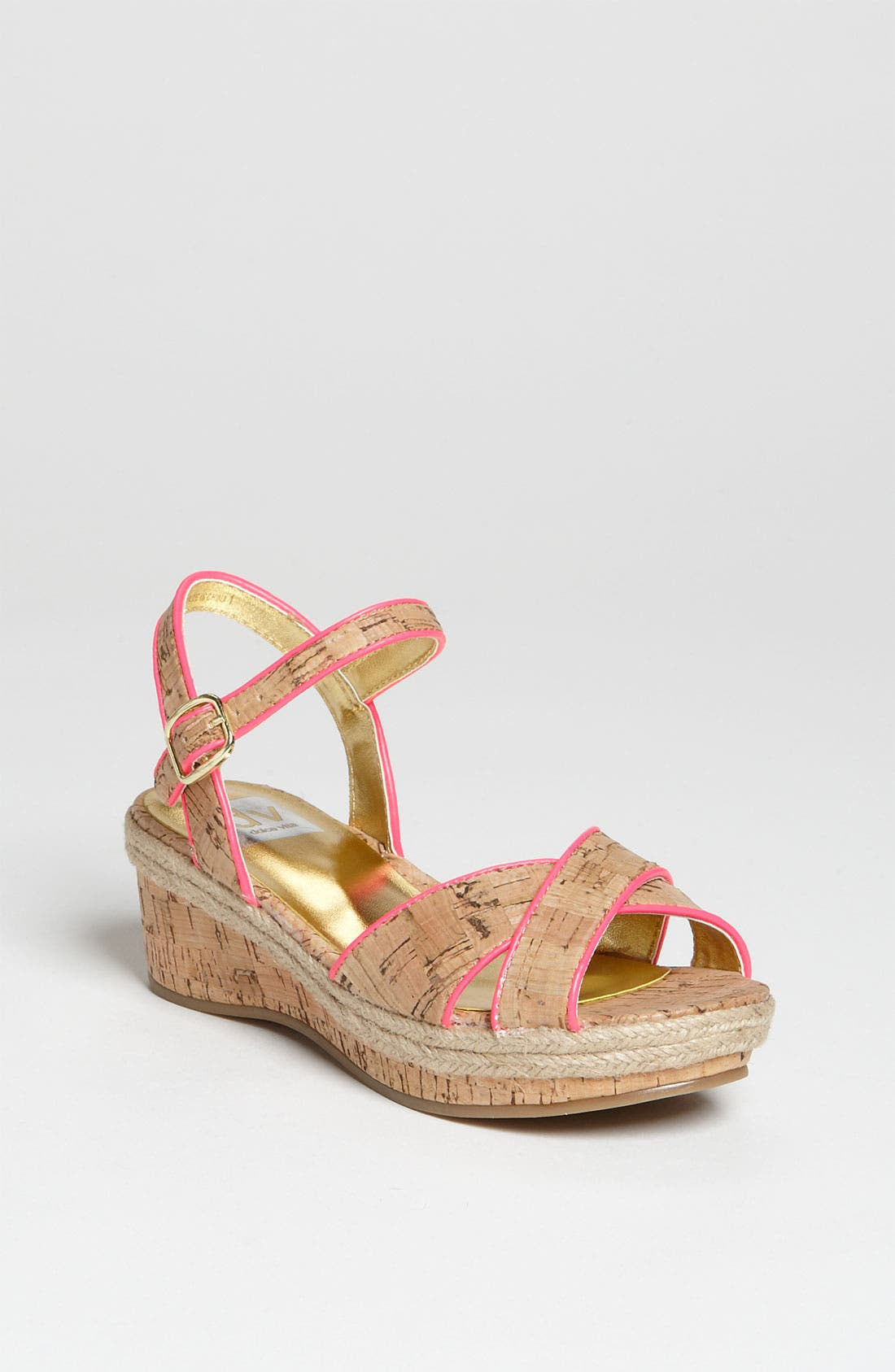 Main Image - DV by Dolce Vita 'Callie' Wedge Sandal (Toddler, Little Kid & Big Kid)