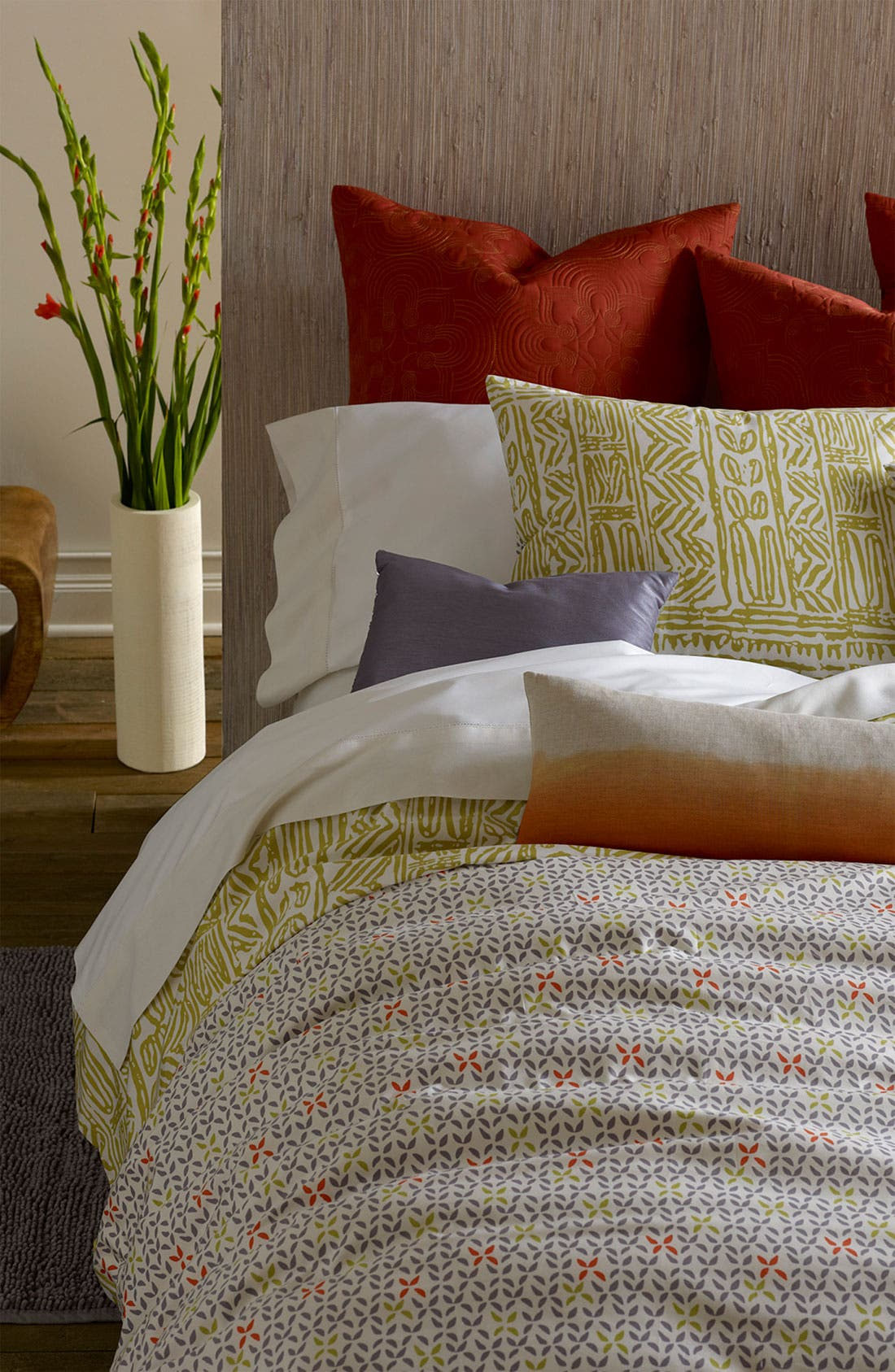 Alternate Image 1 Selected - Blissliving Home 'Isla/Flora' 300 Thread Count Duvet Set (Online Only)