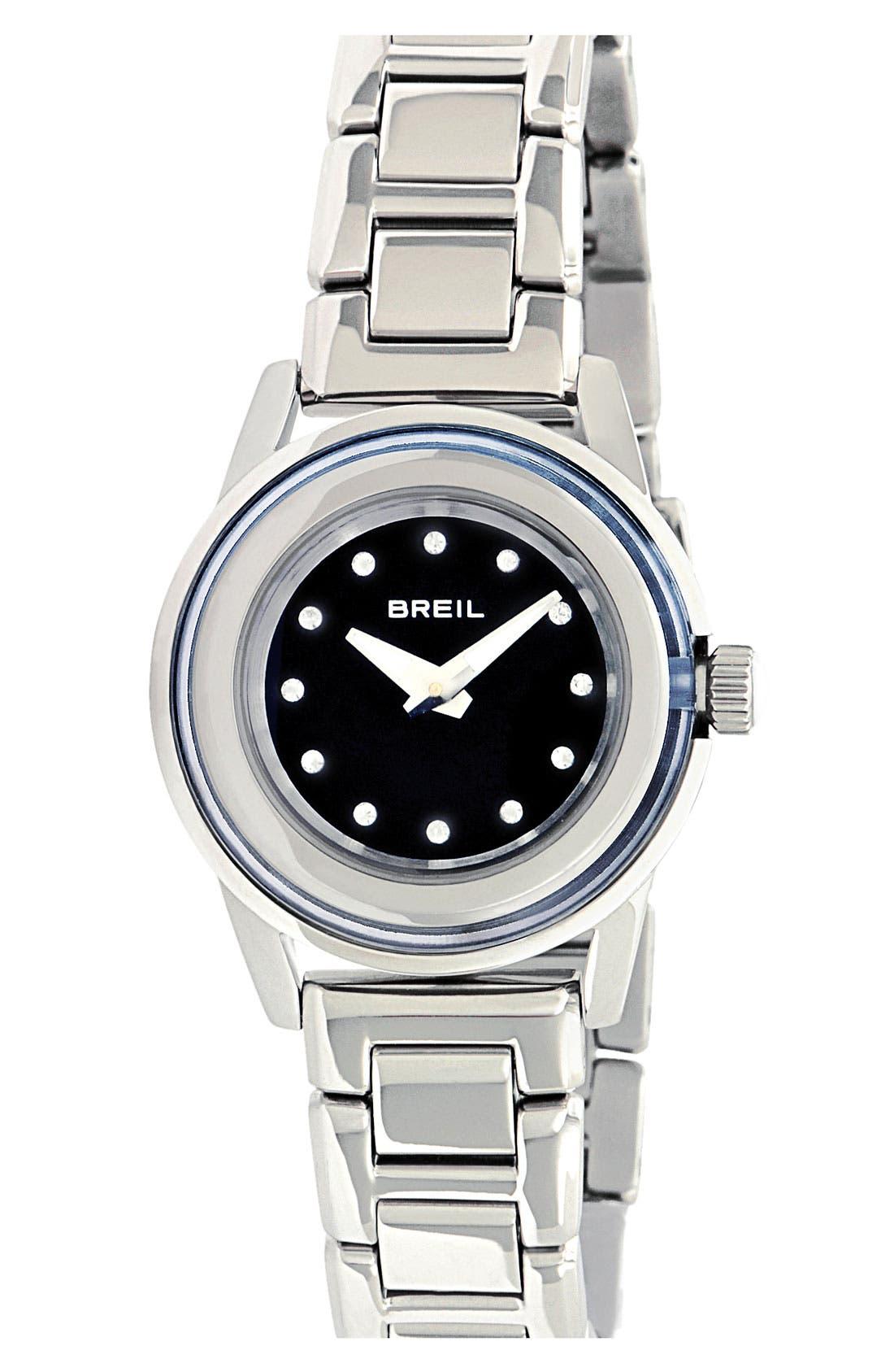 Alternate Image 1 Selected - Breil 'Orchestra' Crystal Index Bracelet Watch