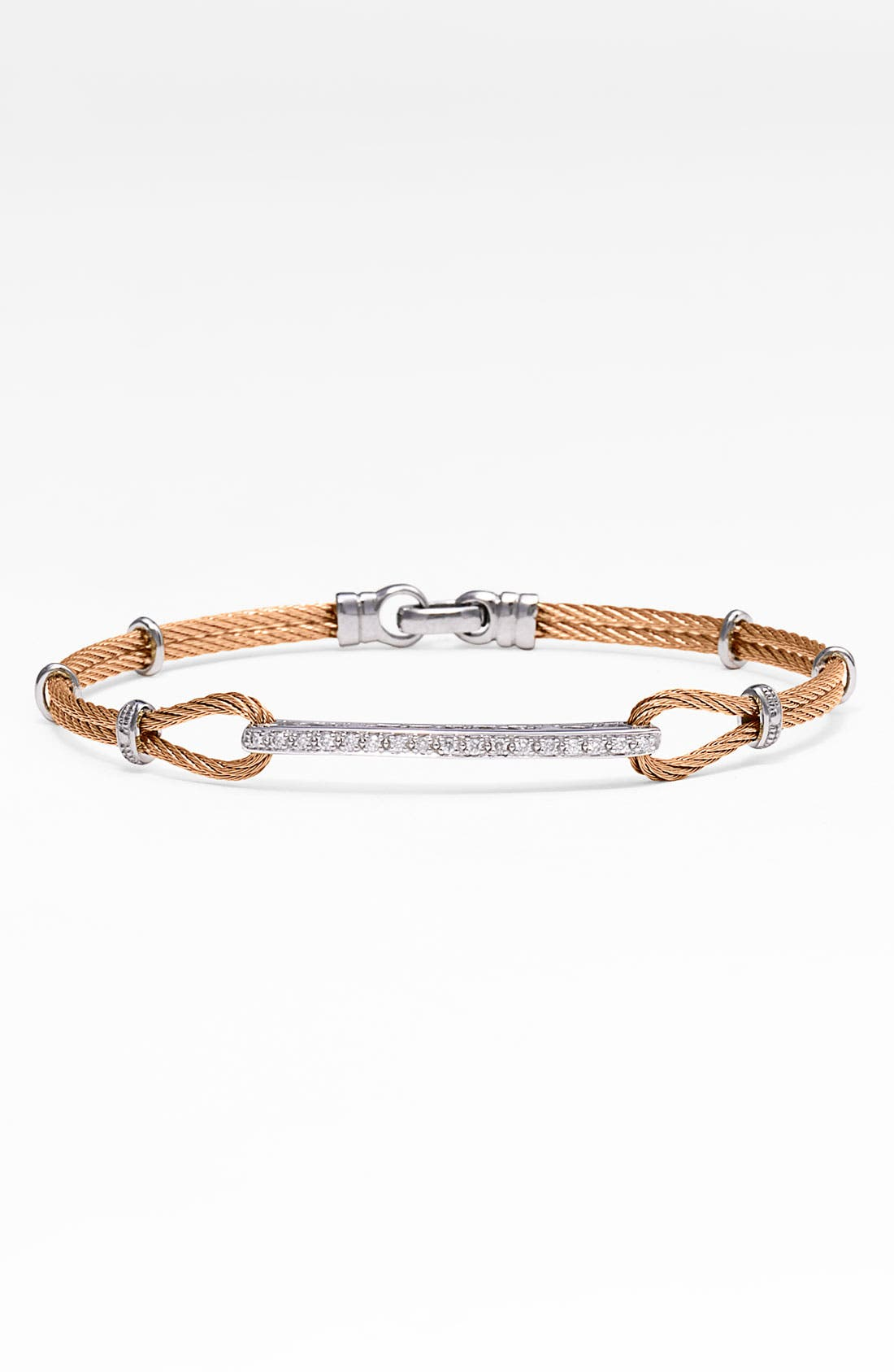 Alternate Image 1 Selected - ALOR® Diamond ID Bracelet