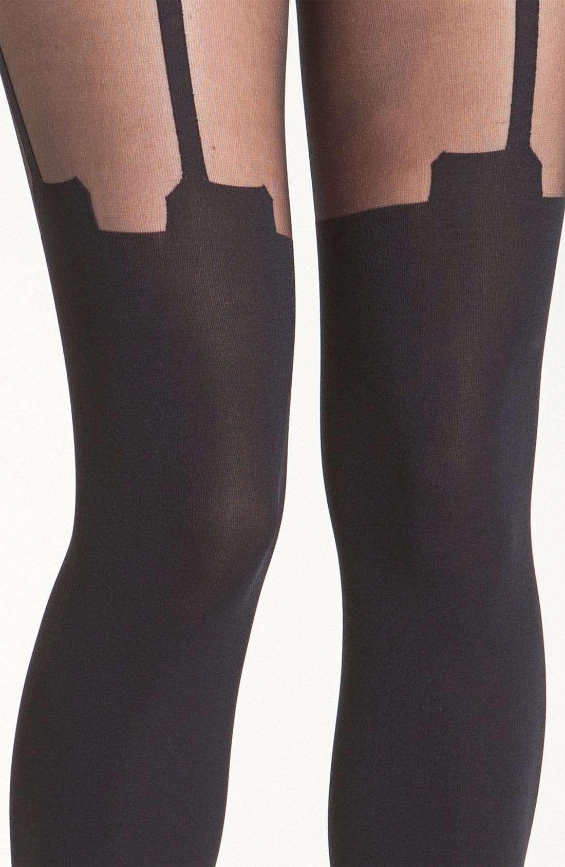 Alternate Image 2  - Pretty Polly 'House of Holland Super Suspender' Tights