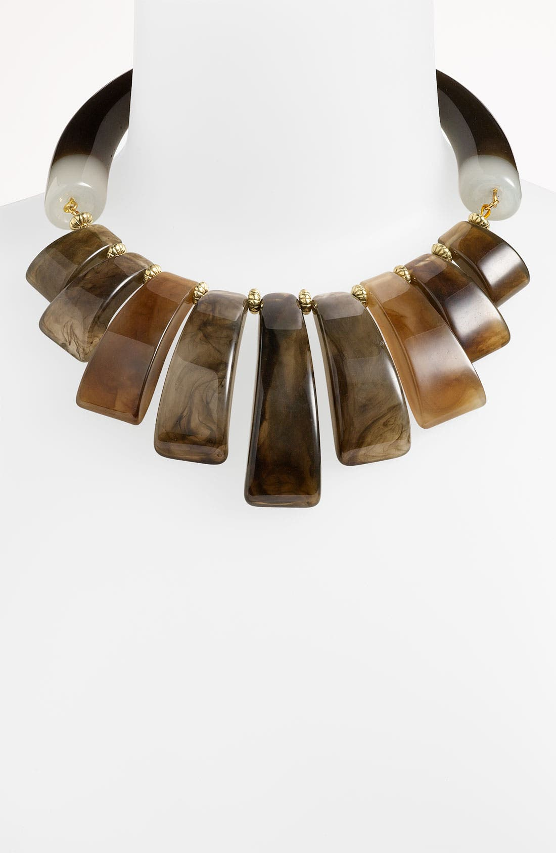 Alternate Image 1 Selected - Natasha Couture Horn Statement Necklace