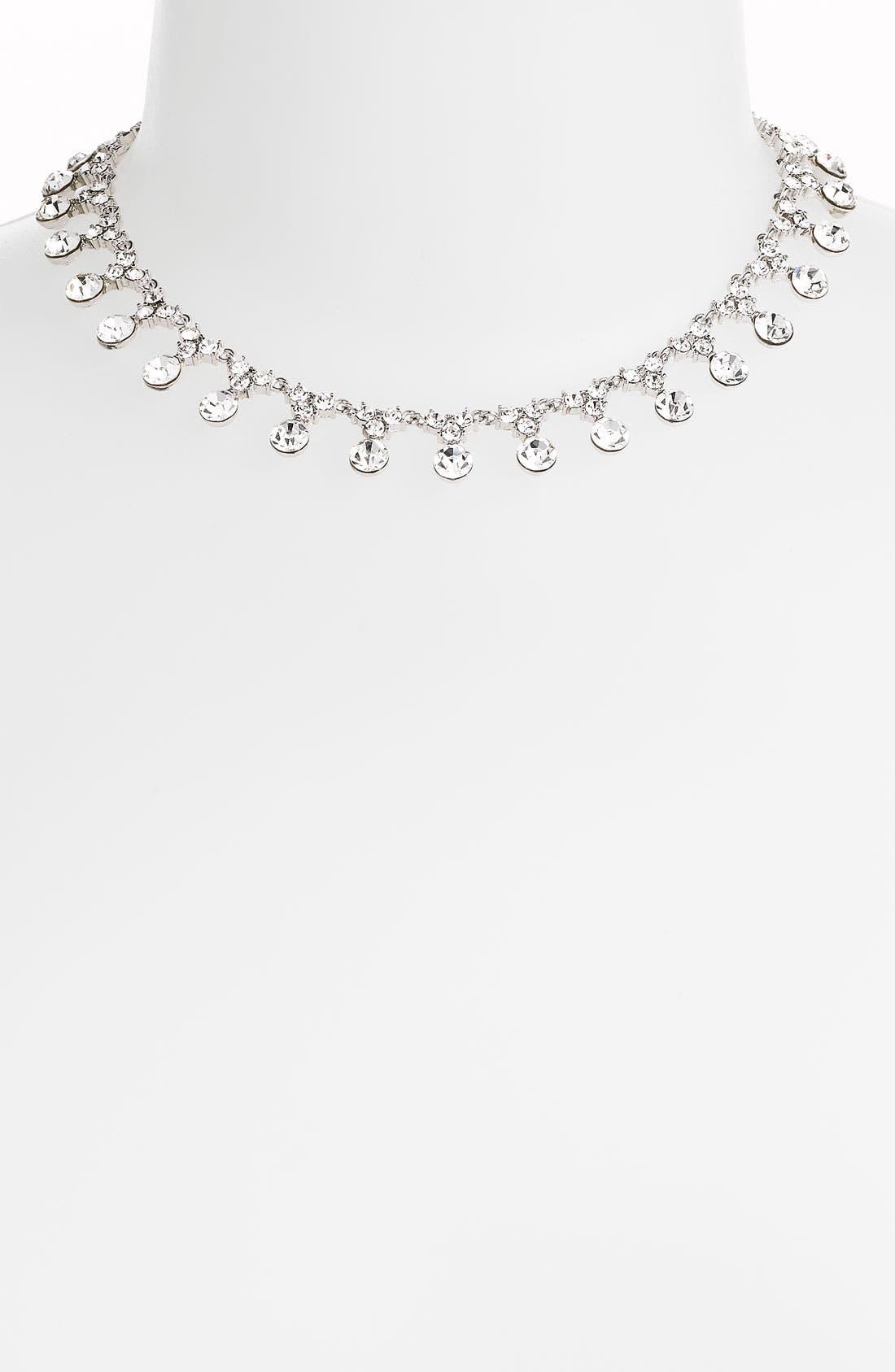 Main Image - Tasha All Around Crystal Drop Necklace