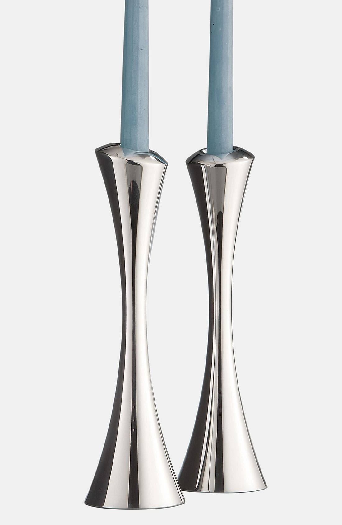 Nambé Aquila Set of 2 Candlesticks
