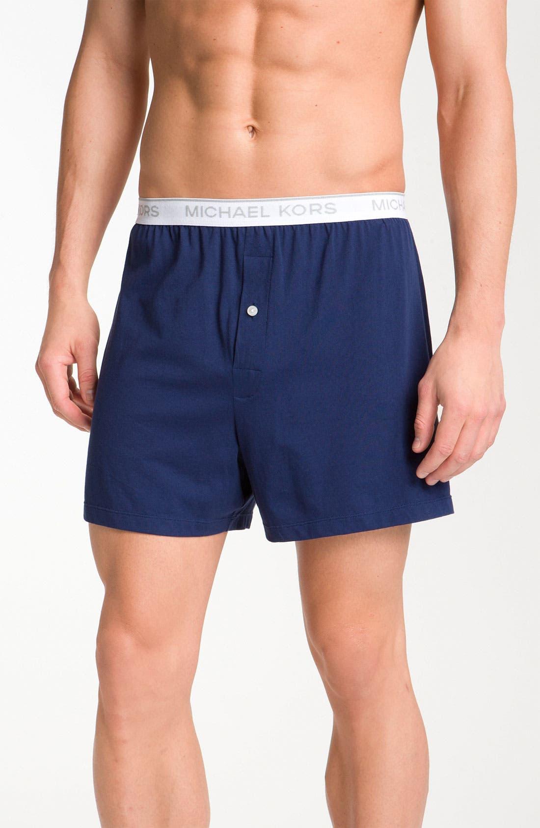Alternate Image 1 Selected - Michael Kors Knit Boxers (2-Pack)