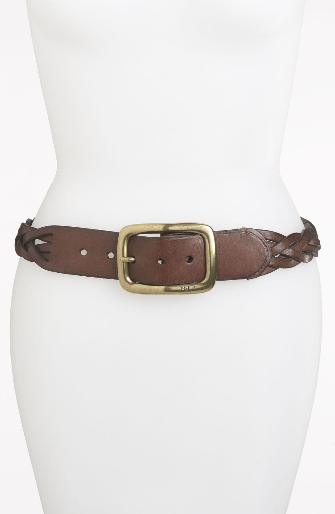 Main Image - Lauren Ralph Lauren Braided Belt