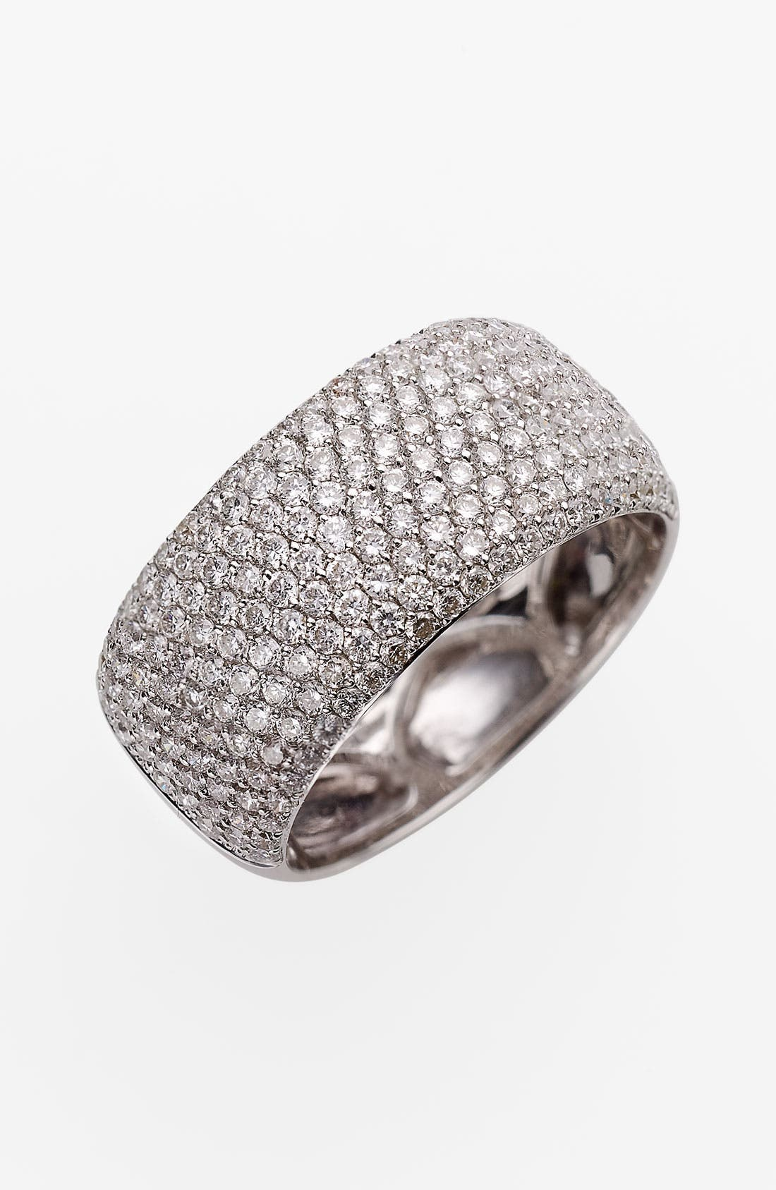 Alternate Image 1 Selected - Bony Levy 9-Row Pavé Diamond Ring (Nordstrom Exclusive)