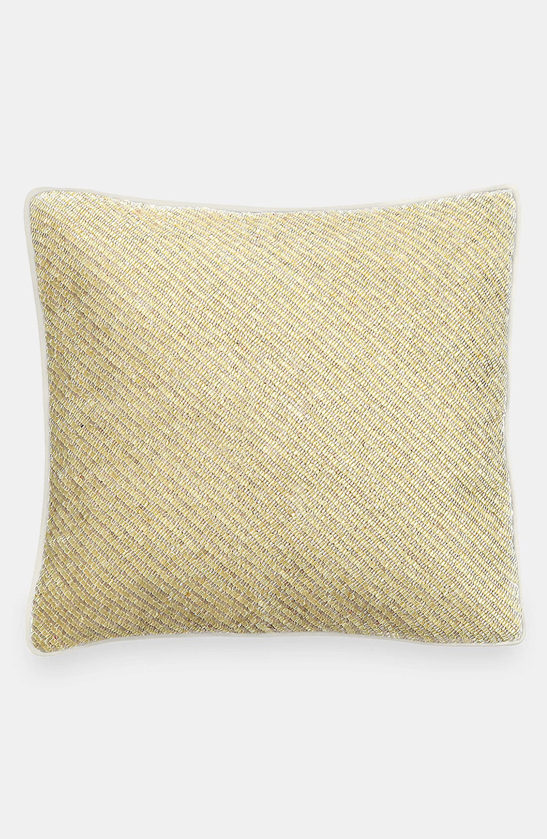 Alternate Image 1 Selected - kate spade new york 'bugle beads' decorative pillow