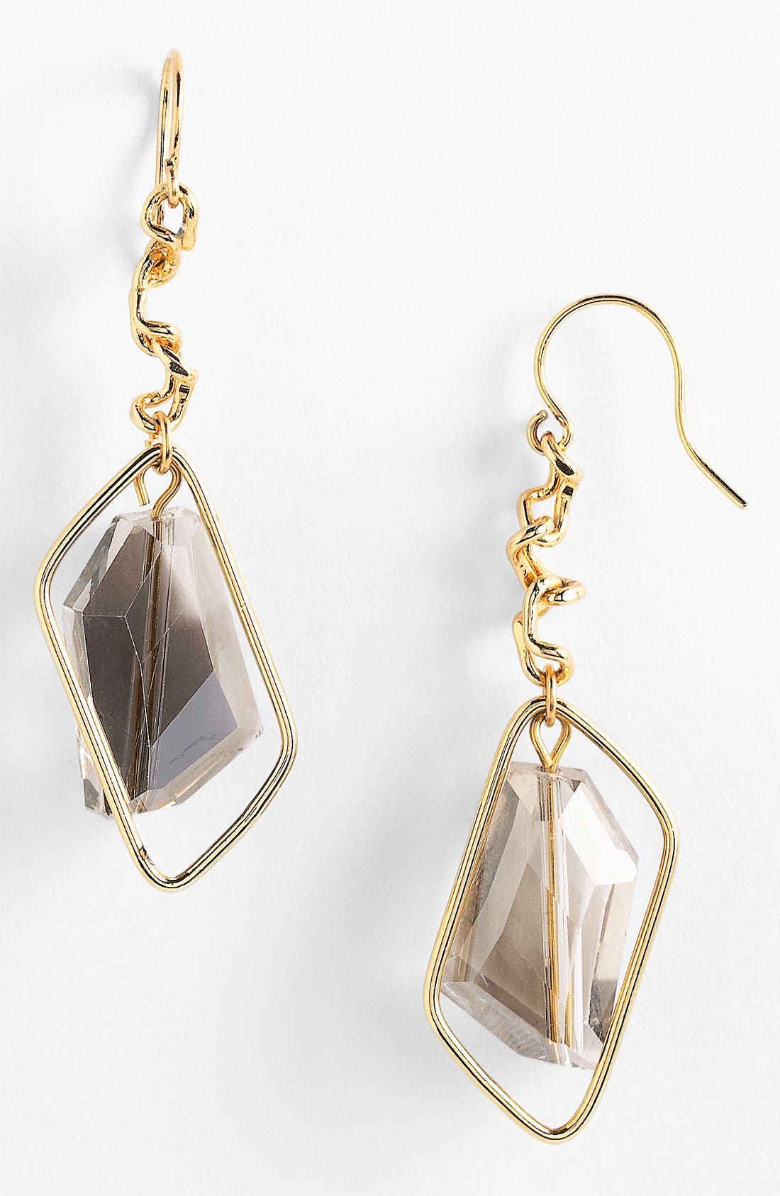 Alternate Image 1 Selected - Nordstrom Geometric Drop Earrings