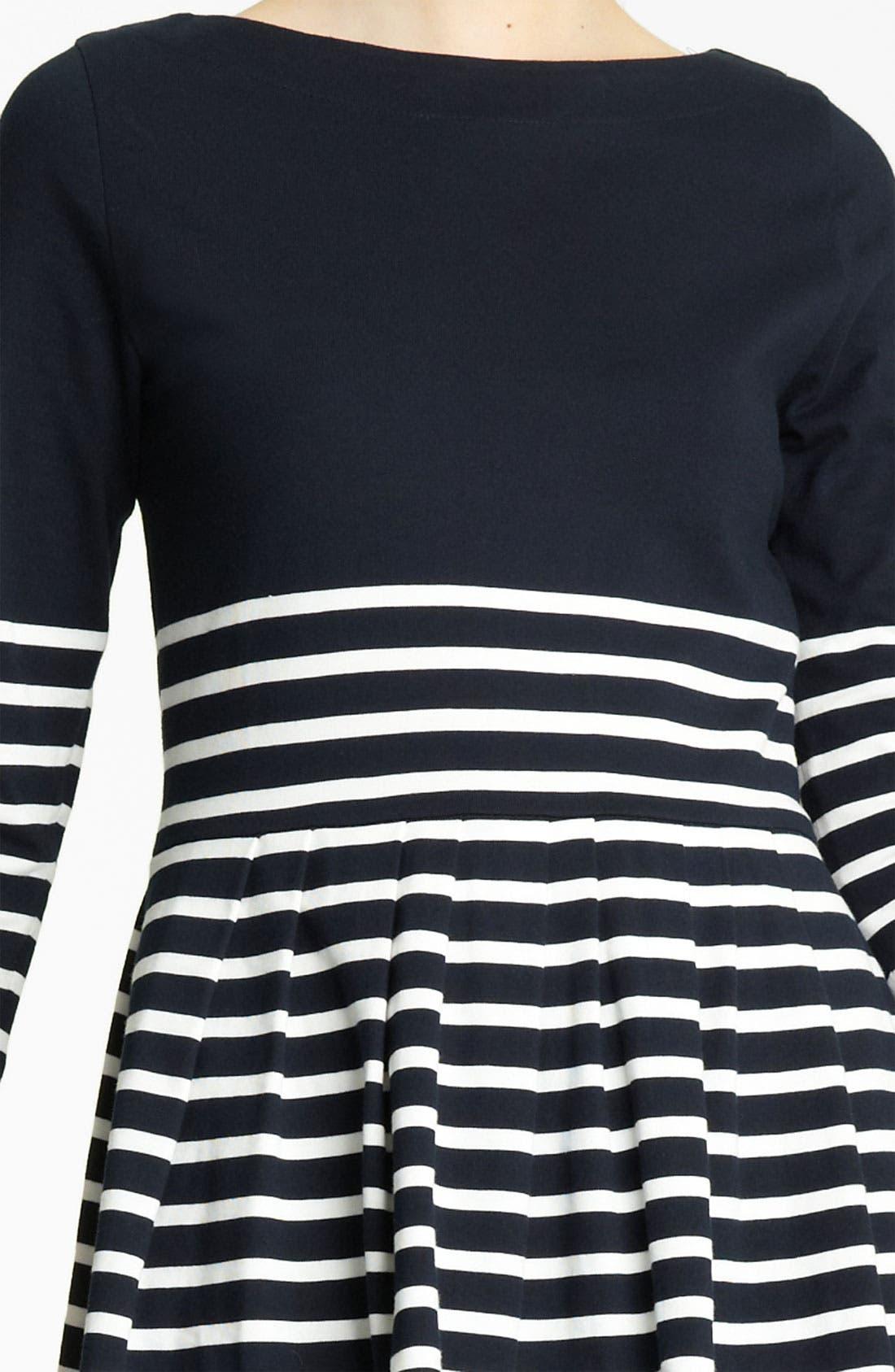 Alternate Image 3  - Band of Outsiders Stripe Jersey Dress