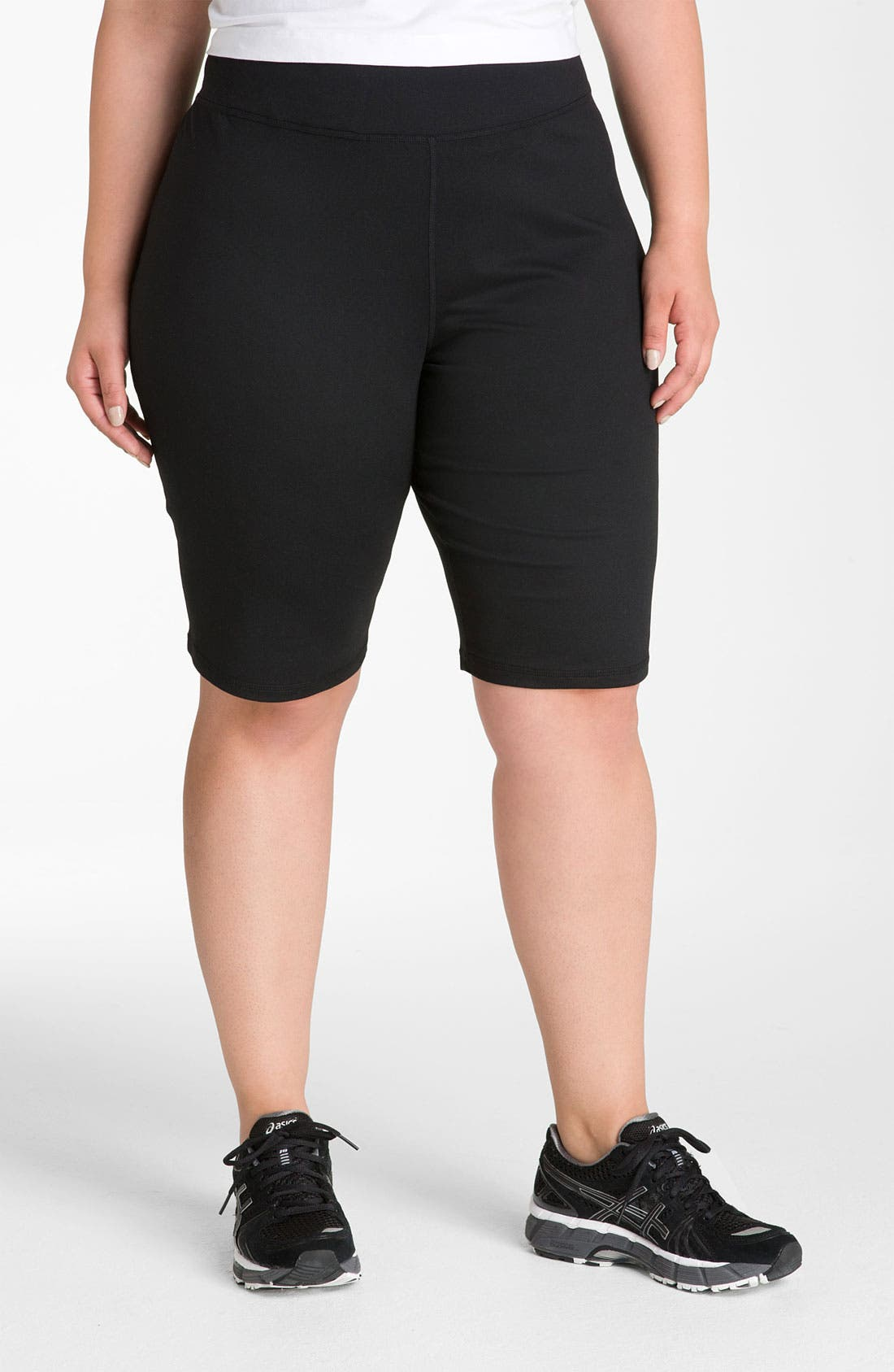 Alternate Image 3  - Zella 'Balance 2' Shorts (Plus Size)