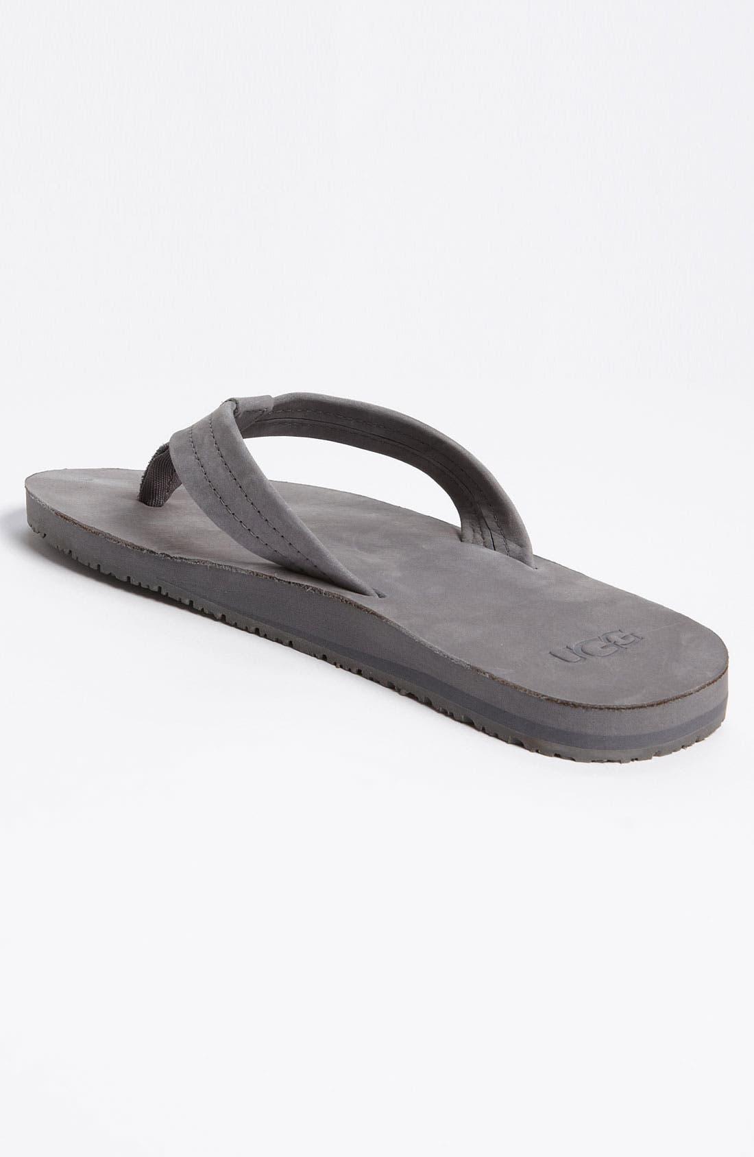 Alternate Image 2  - UGG® Australia 'Camano' Flip Flop (Men)