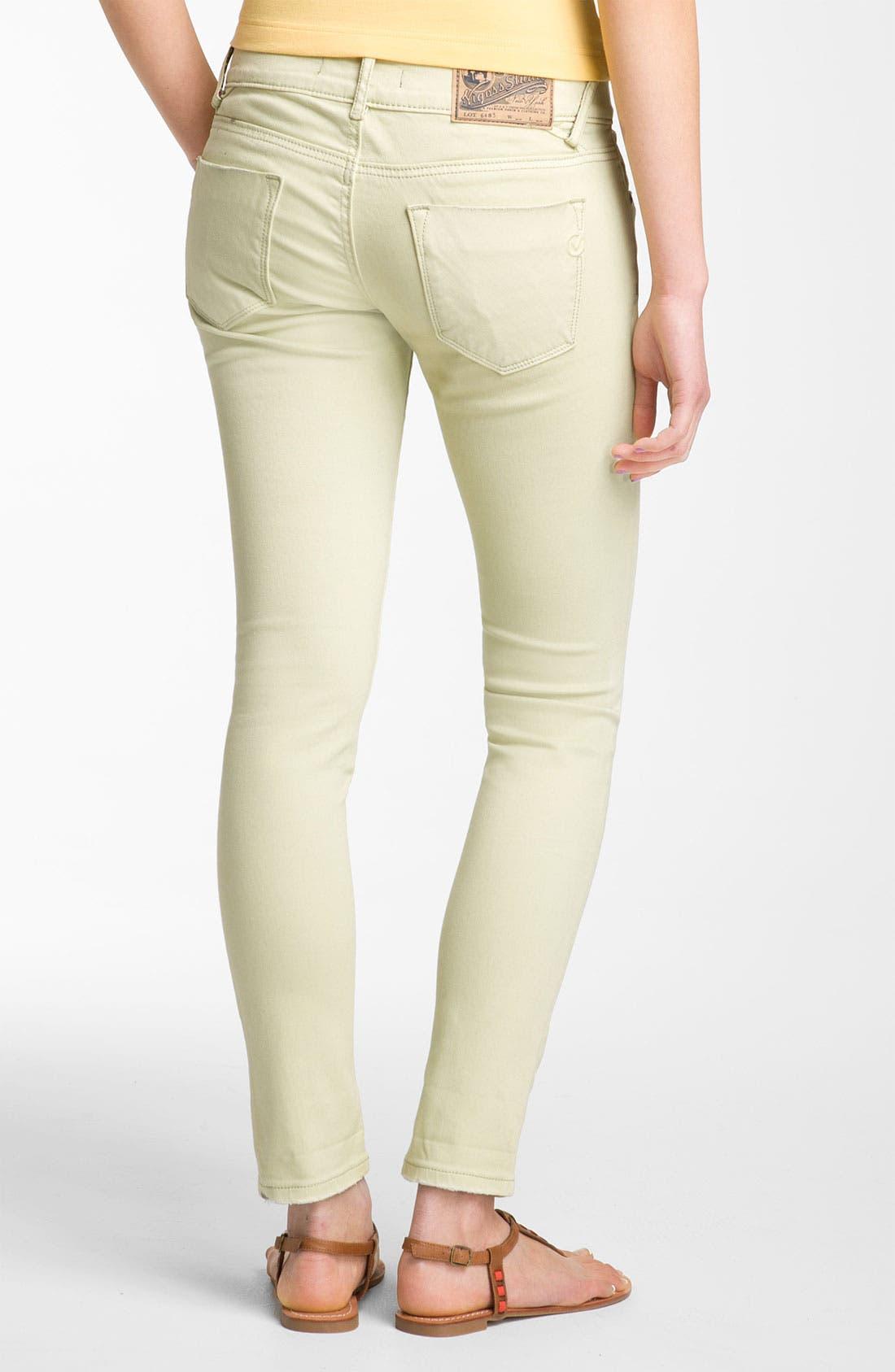 Alternate Image 1 Selected - Vigoss Skinny Jeans (Juniors)