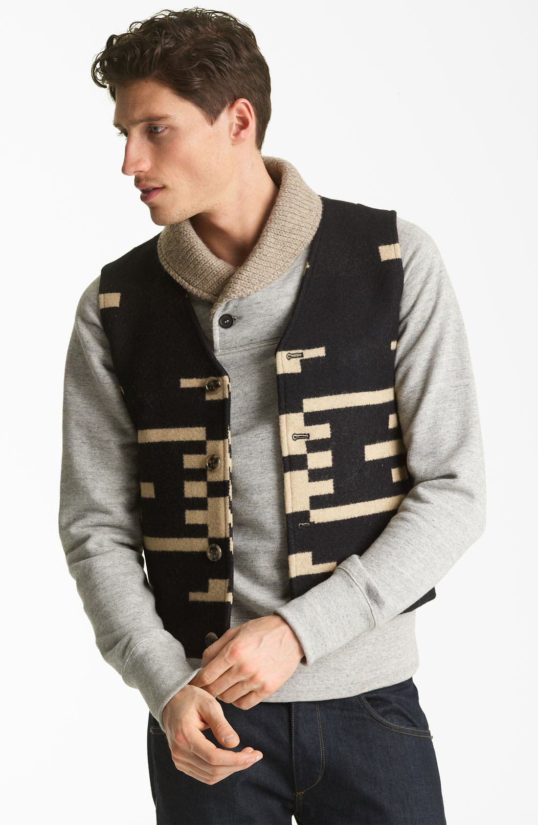 Alternate Image 1 Selected - Pendleton Portland Collection 'Sundown' Vest