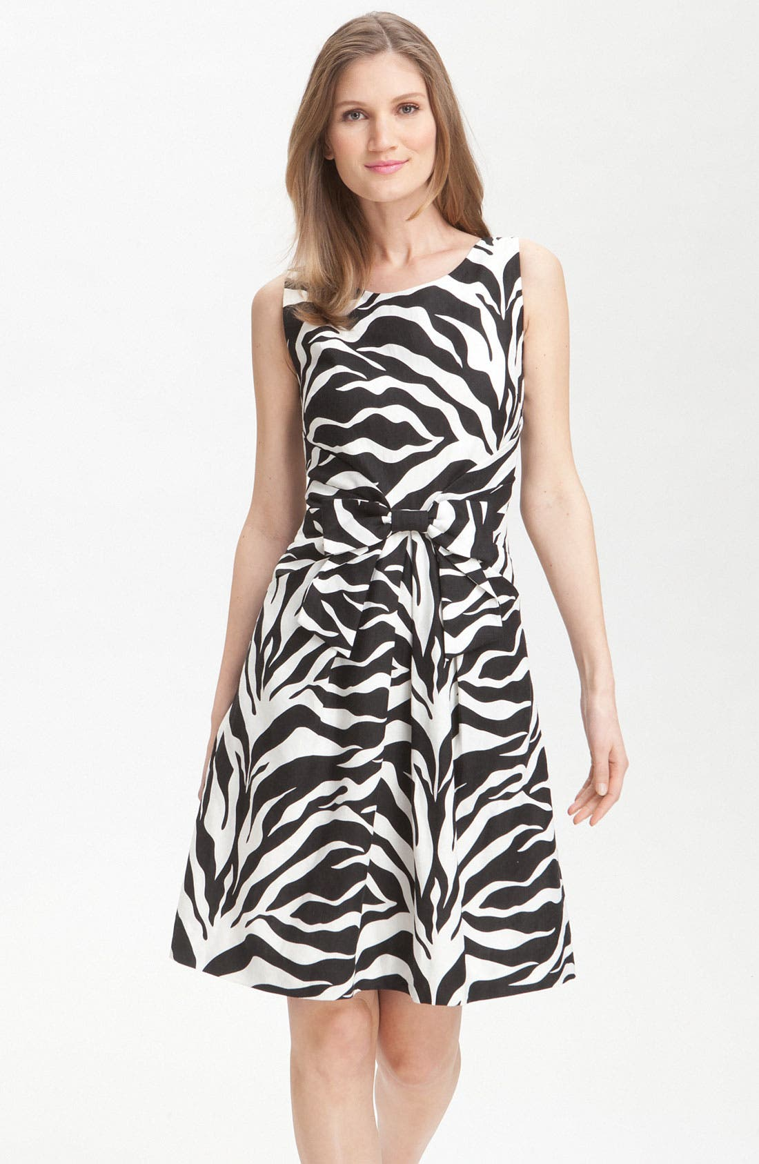 Main Image - kate spade new york 'jillian' animal print dress