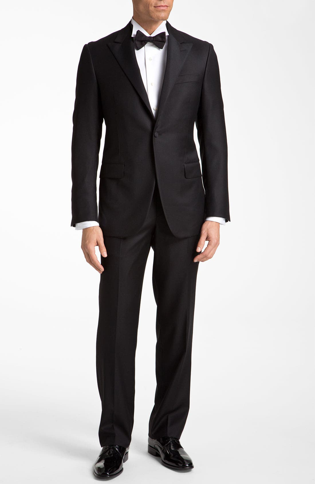 Alternate Image 1 Selected - Hickey Freeman Worsted Wool Tuxedo