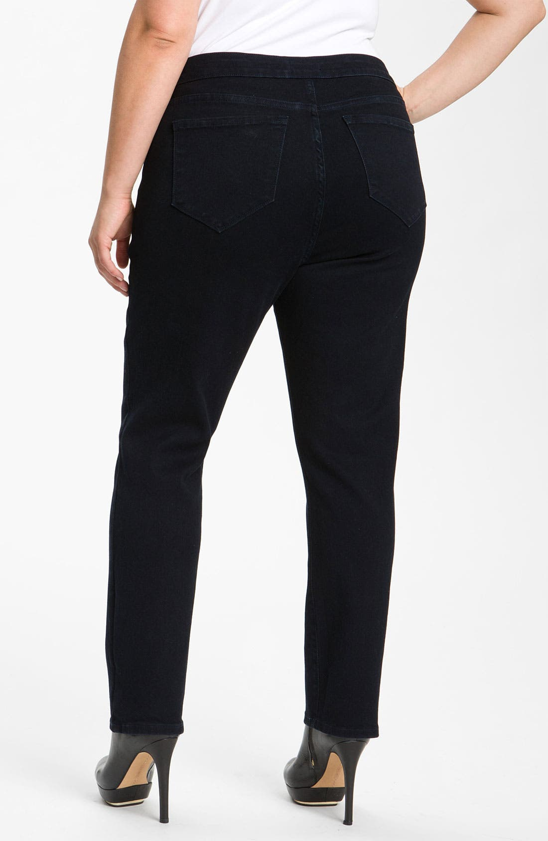 Alternate Image 2  - NYDJ 'Jaclyn' Stretch Denim Leggings (Plus)