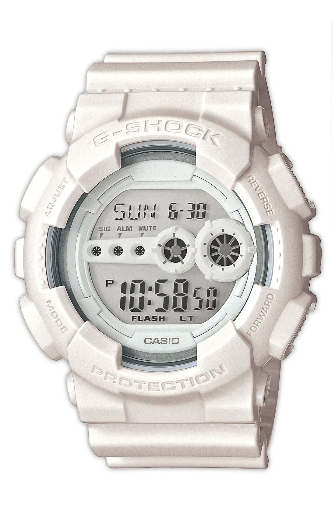 Alternate Image 1 Selected - G-Shock 'Super Luminosity' Digital Watch, 51mm