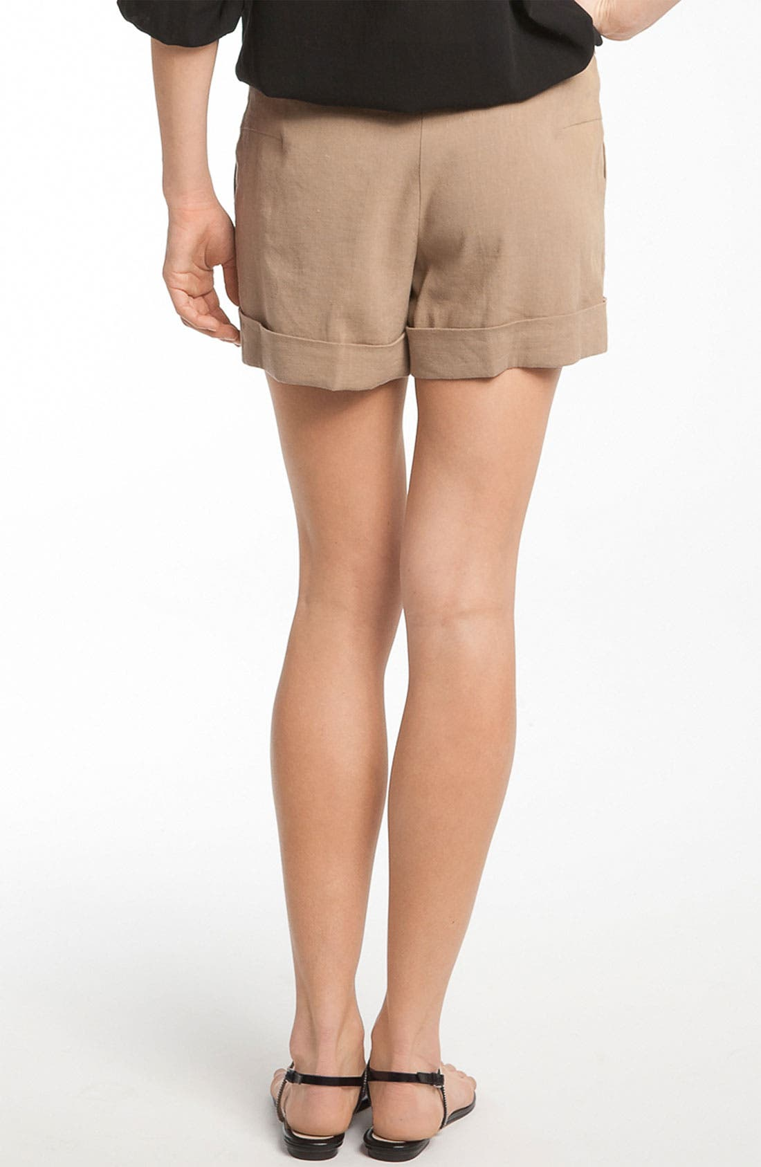 Alternate Image 2  - Trina Turk 'Alto Cinco' Cuff Shorts