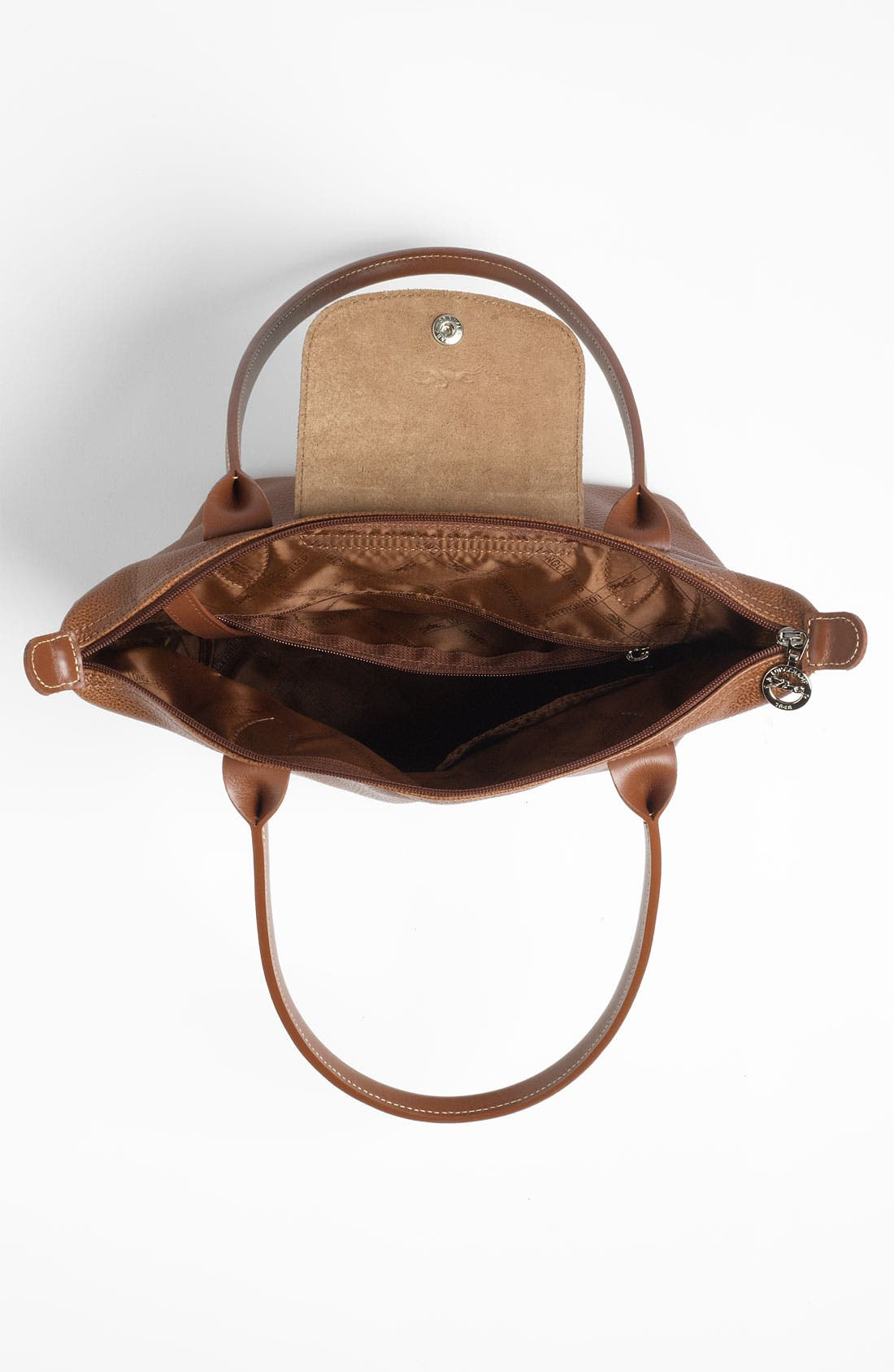 Alternate Image 3  - Longchamp 'Veau  Fouloneé' Shoulder Bag (Nordstrom Exclusive)