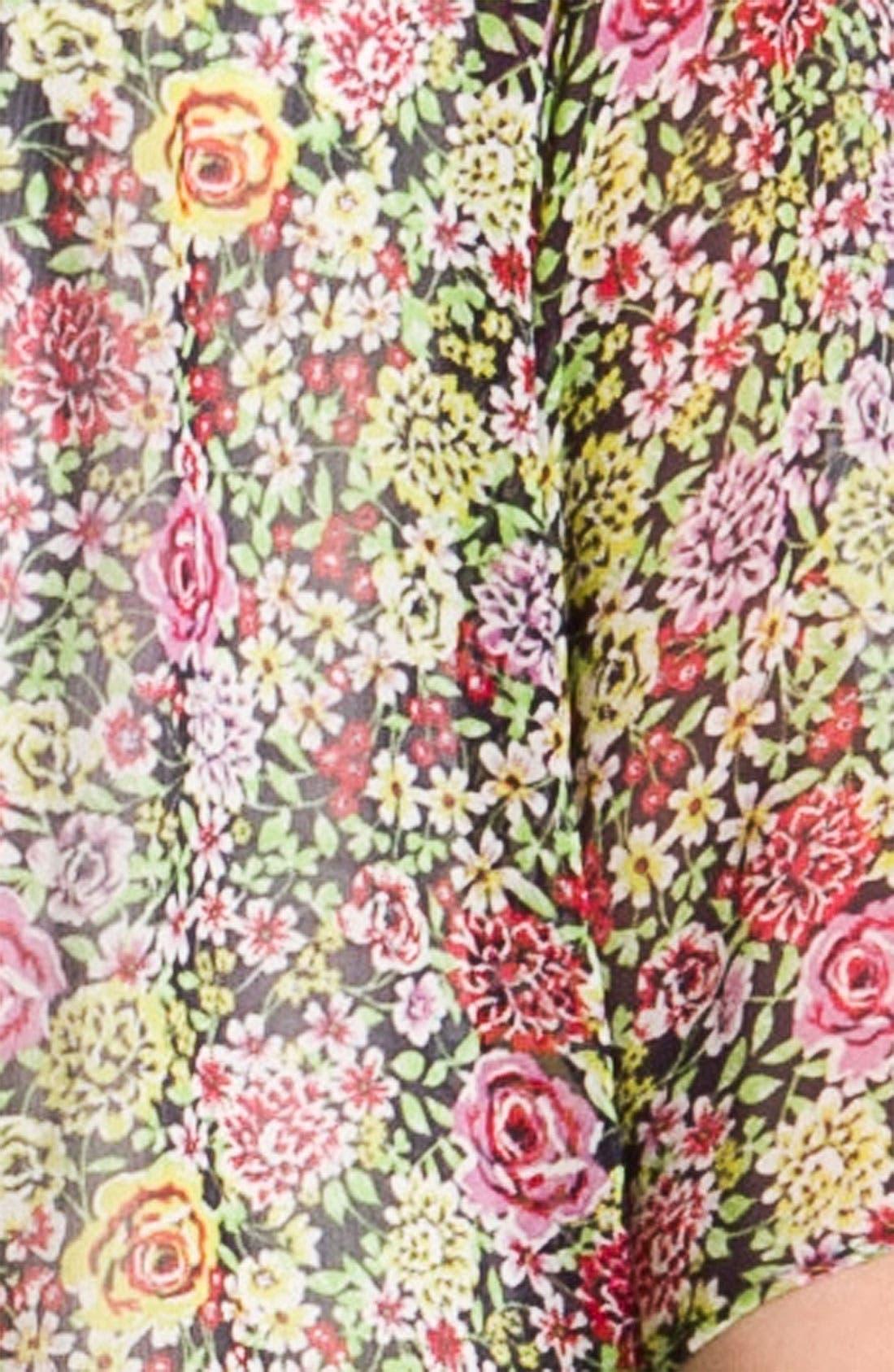 Alternate Image 3  - Bellatrix Floral Print Chiffon Robe