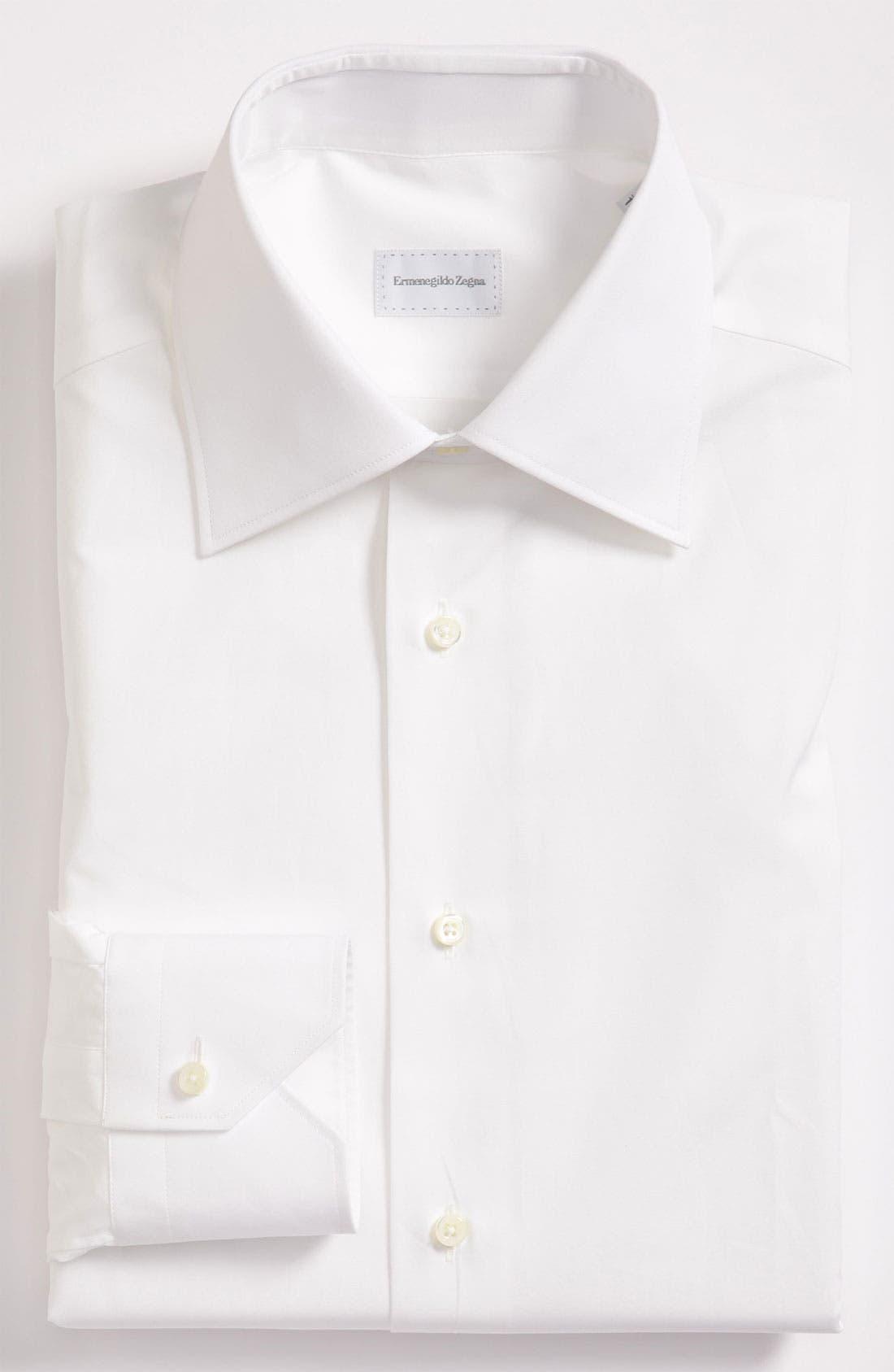 Alternate Image 1 Selected - Ermenegildo Zegna Tailored Fit Dress Shirt