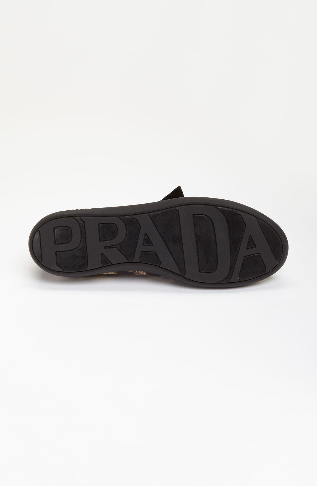 Alternate Image 4  - Prada 'Puff' Sneaker
