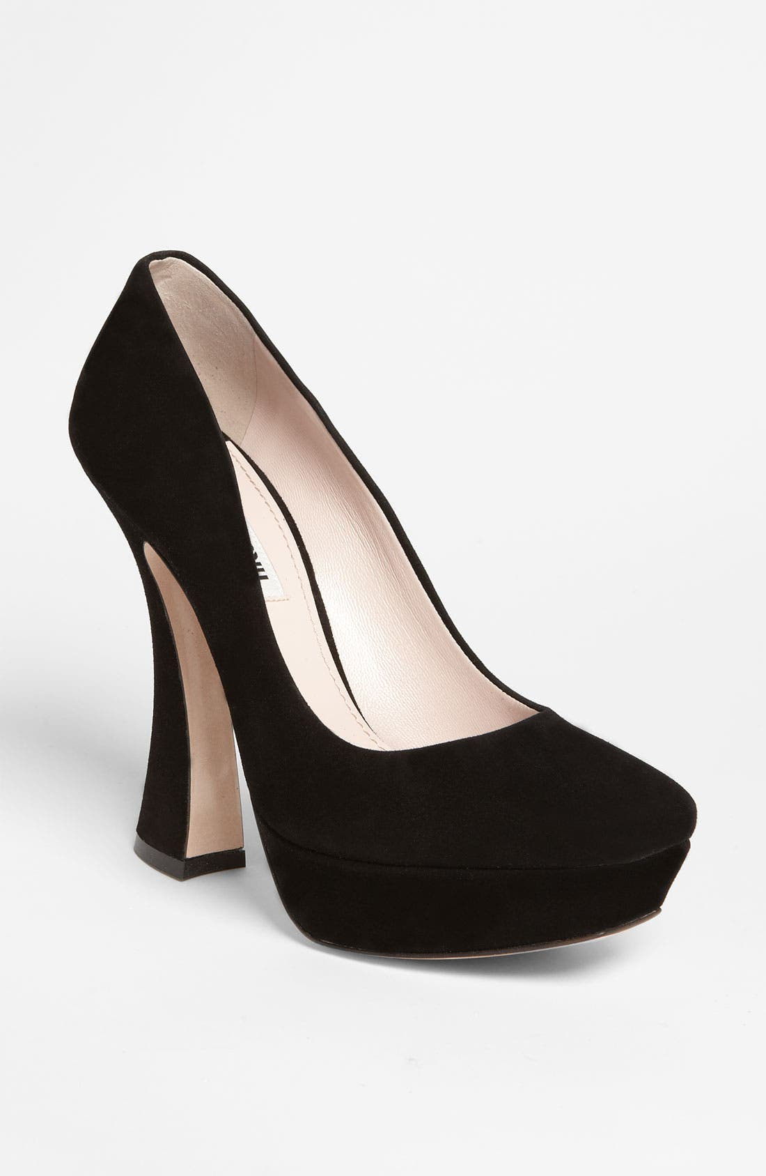 Alternate Image 1 Selected - Miu Miu Platform Pump