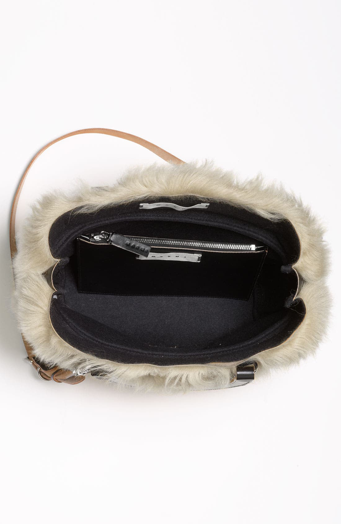 Alternate Image 3  - Marni Shearling Crossbody Bag