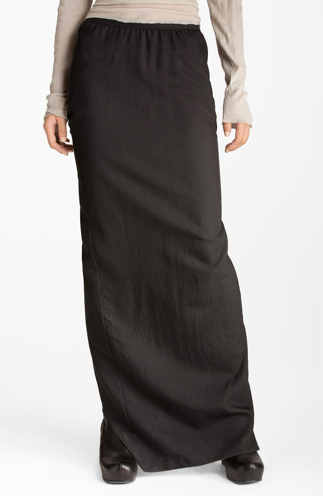 Alternate Image 1 Selected - Rick Owens Slit Maxi Skirt