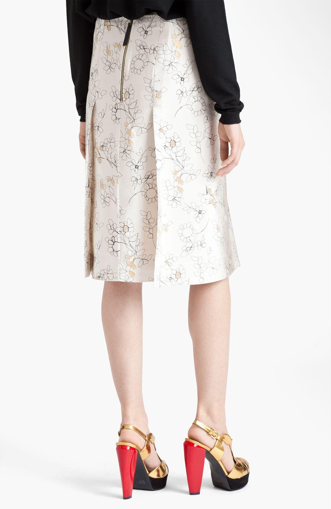 Alternate Image 2  - Marni Floral Print Skirt