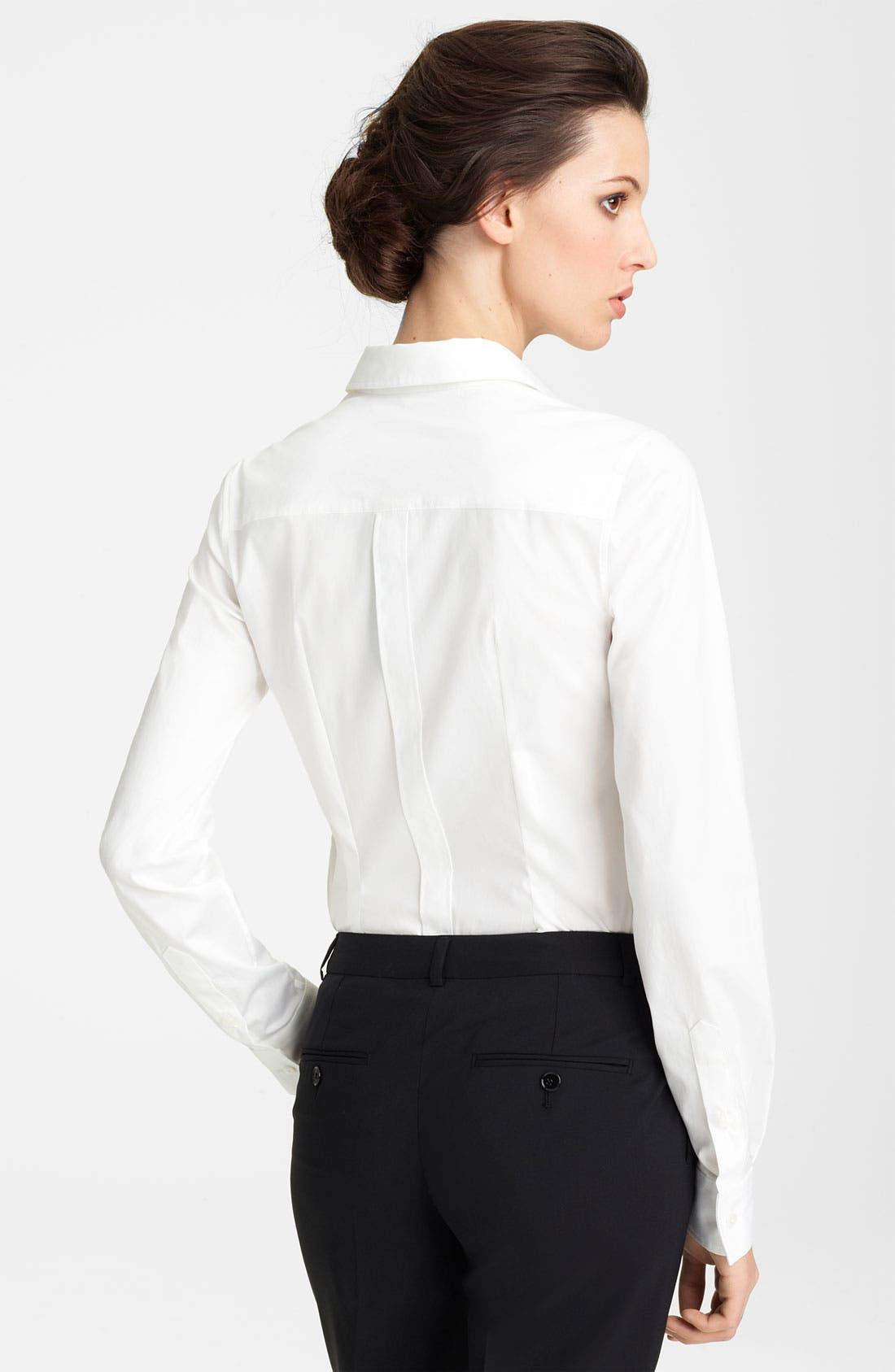 Alternate Image 2  - Dolce&Gabbana Stretch Cotton Shirt
