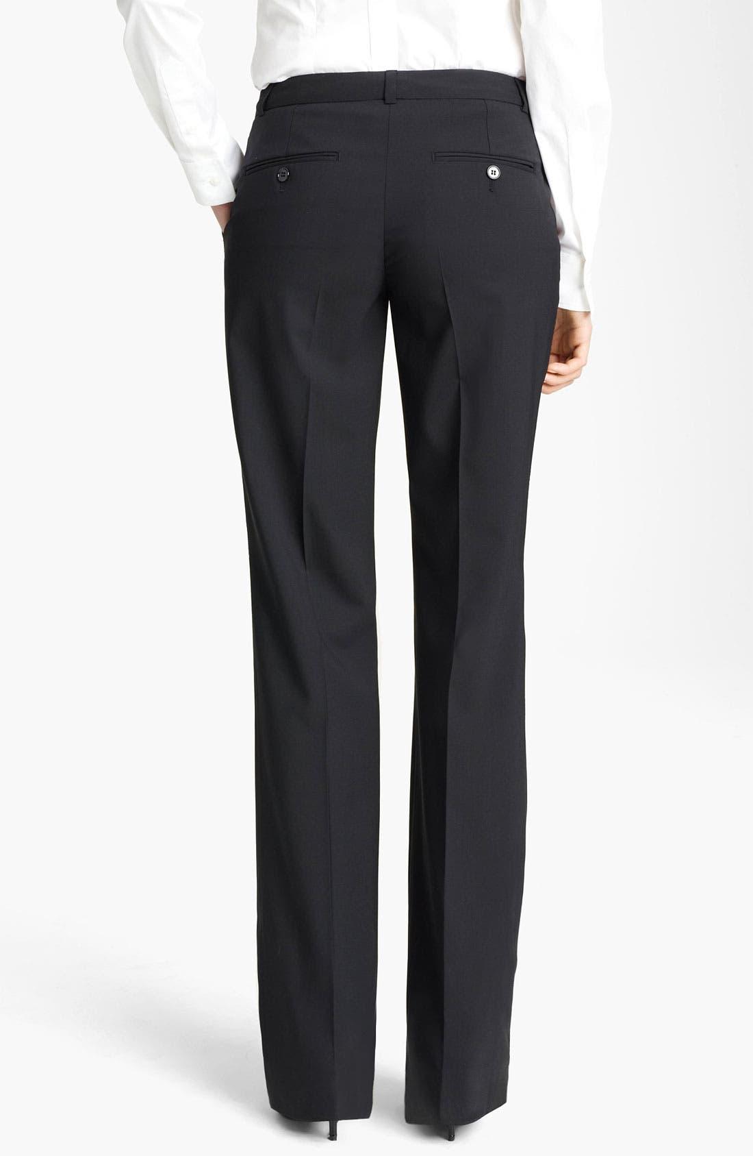 Alternate Image 2  - Dolce&Gabbana Stretch Wool Pants