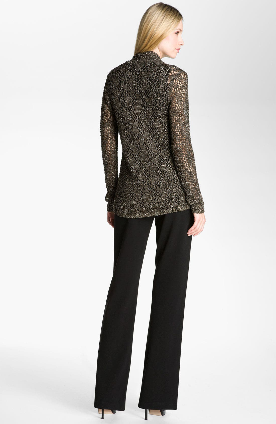 Alternate Image 4  - Eileen Fisher 'Sparkle' Knit Cardigan